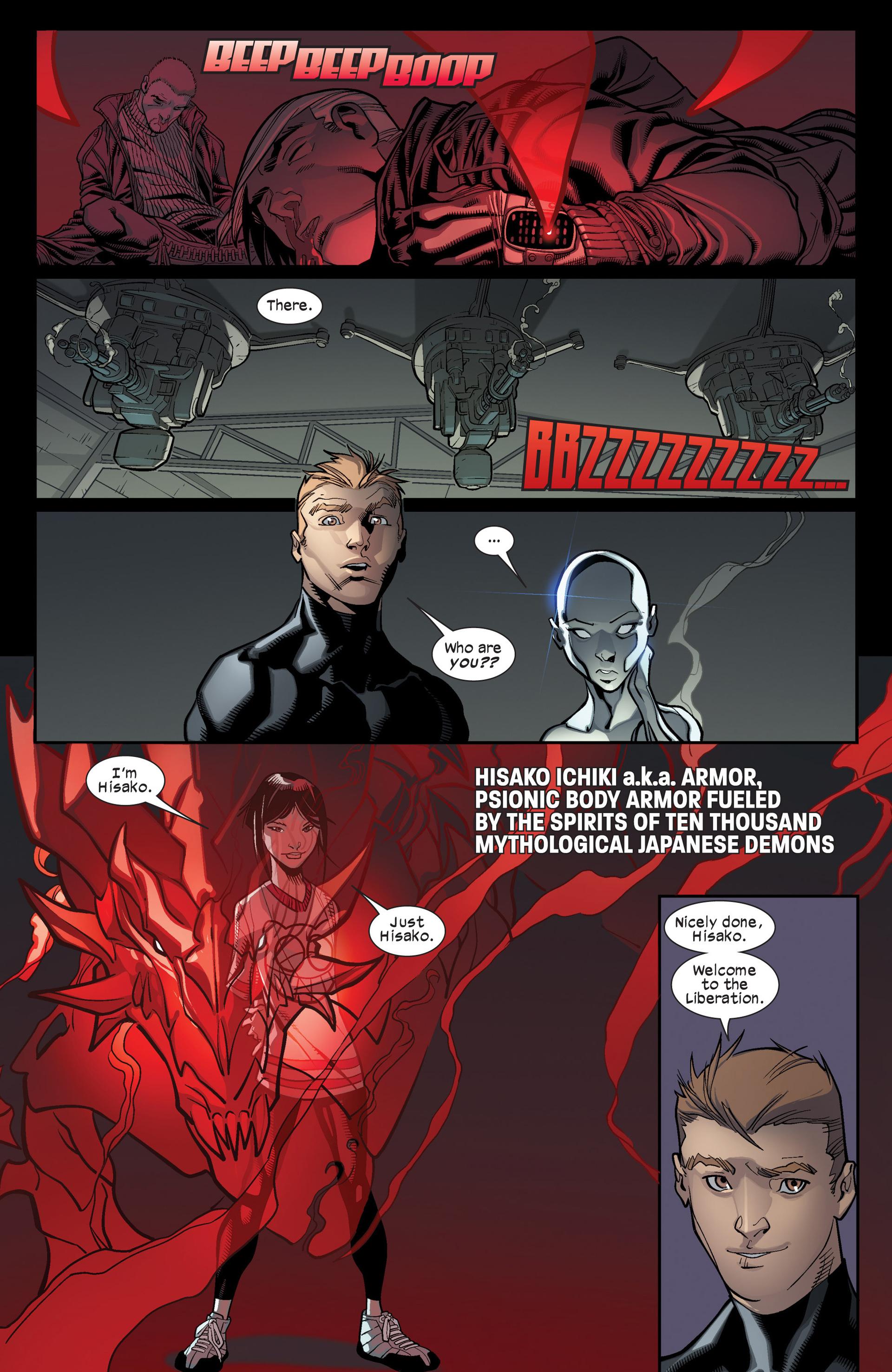 Read online Ultimate Comics X-Men comic -  Issue #17 - 17