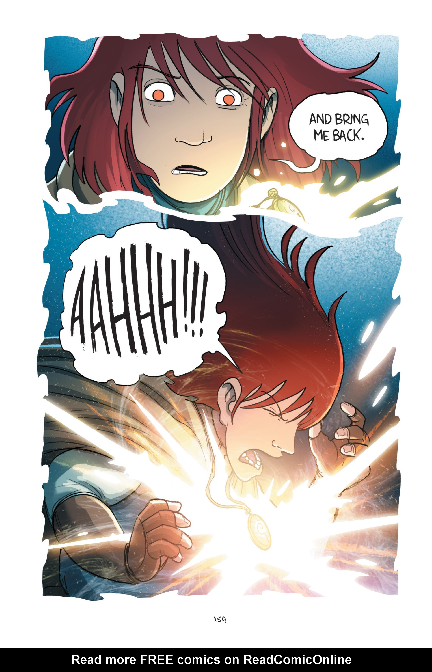 Read online Amulet comic -  Issue #7 - 159