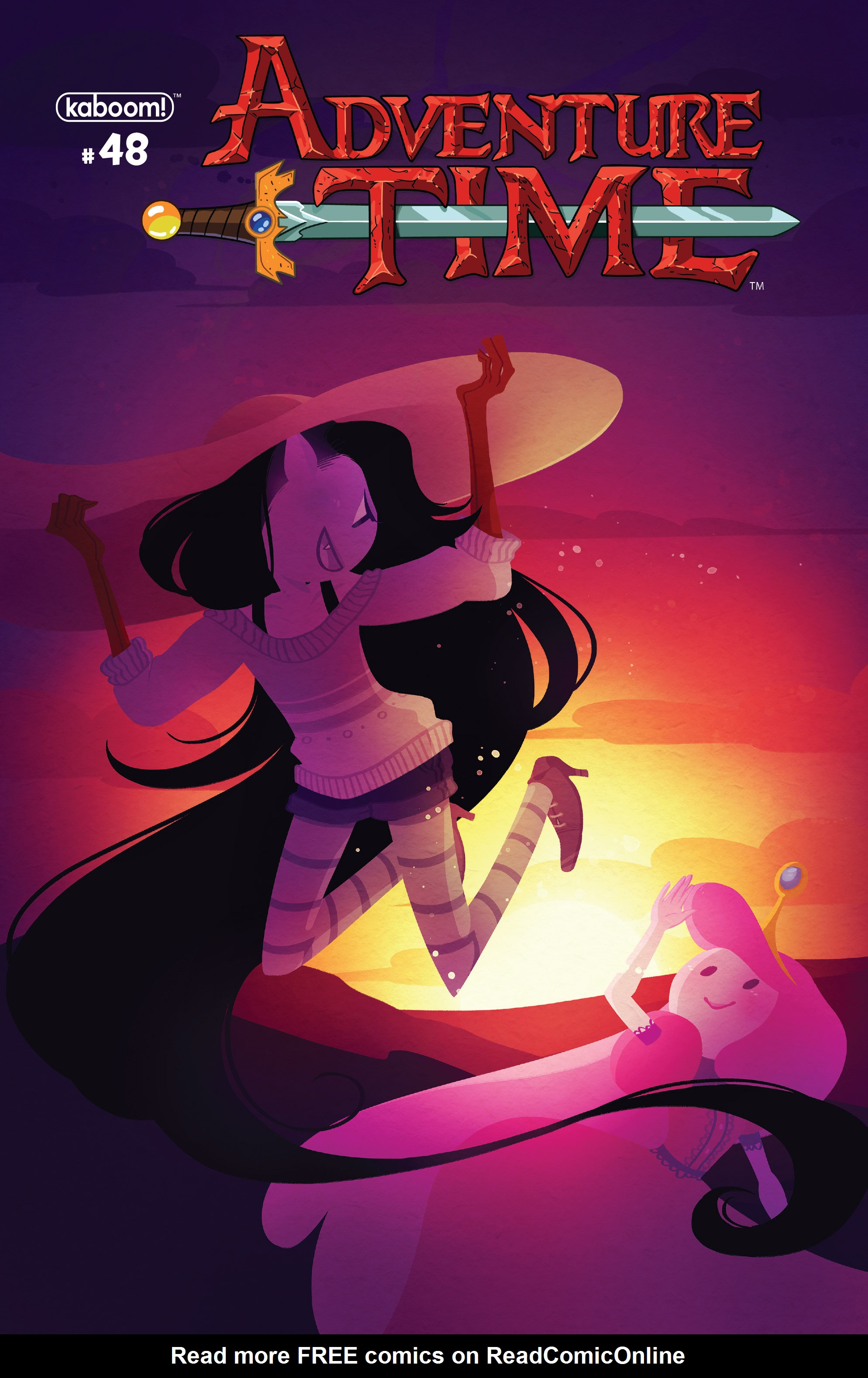 Read online Adventure Time comic -  Issue #48 - 1