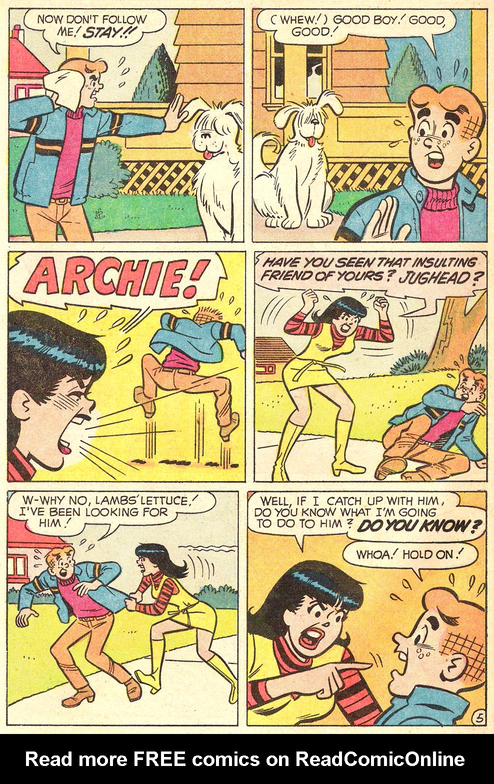 Read online Archie's Girls Betty and Veronica comic -  Issue #176 - 32