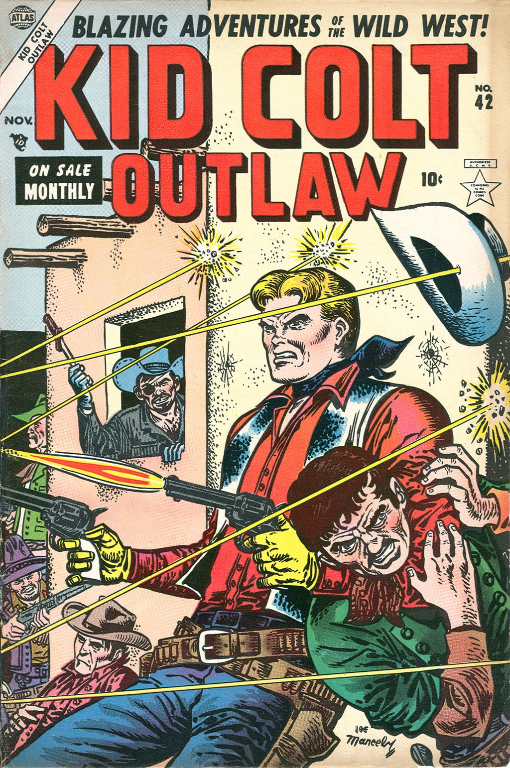 Kid Colt Outlaw issue 42 - Page 1