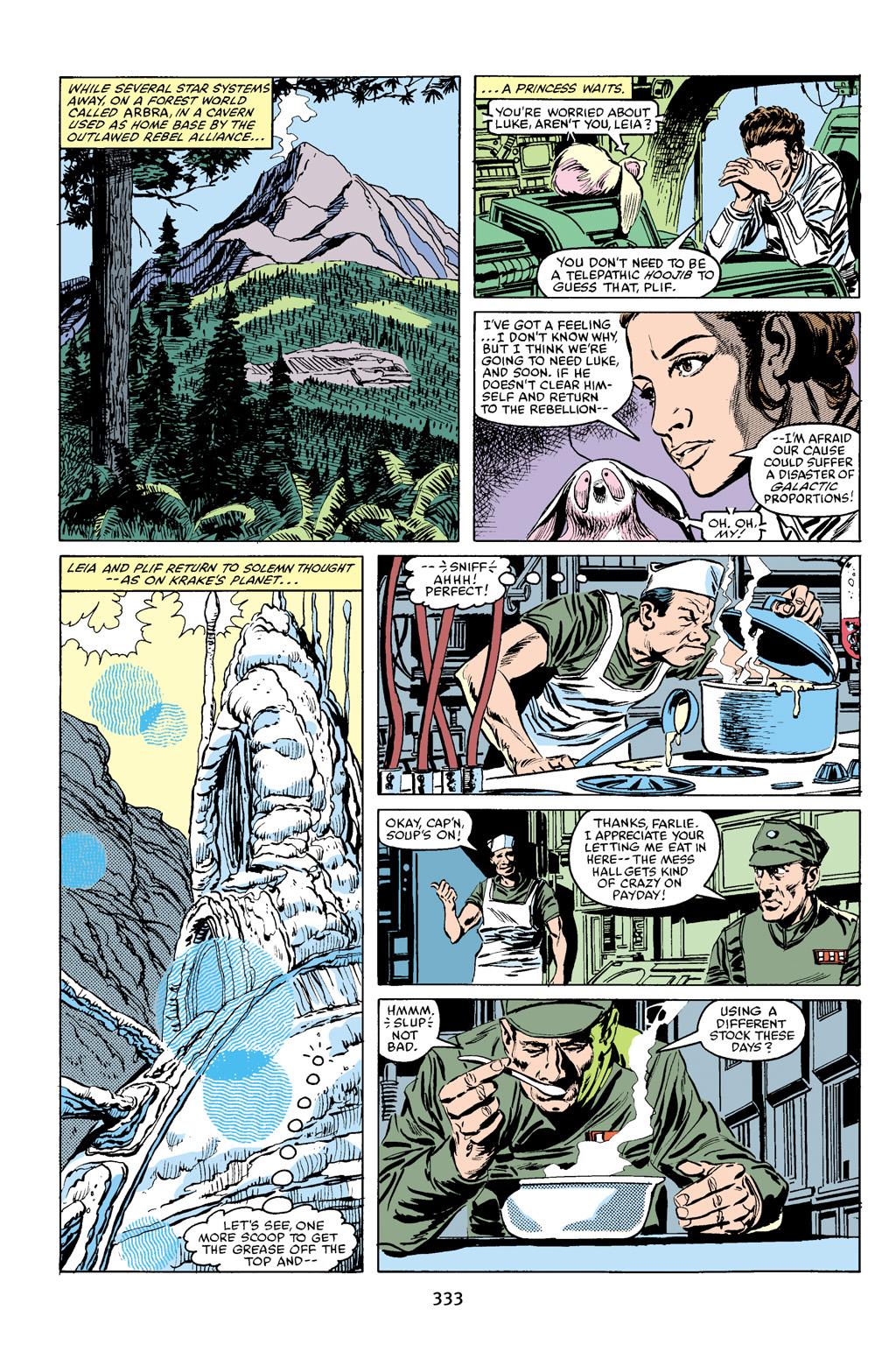 Read online Star Wars Omnibus comic -  Issue # Vol. 16 - 327