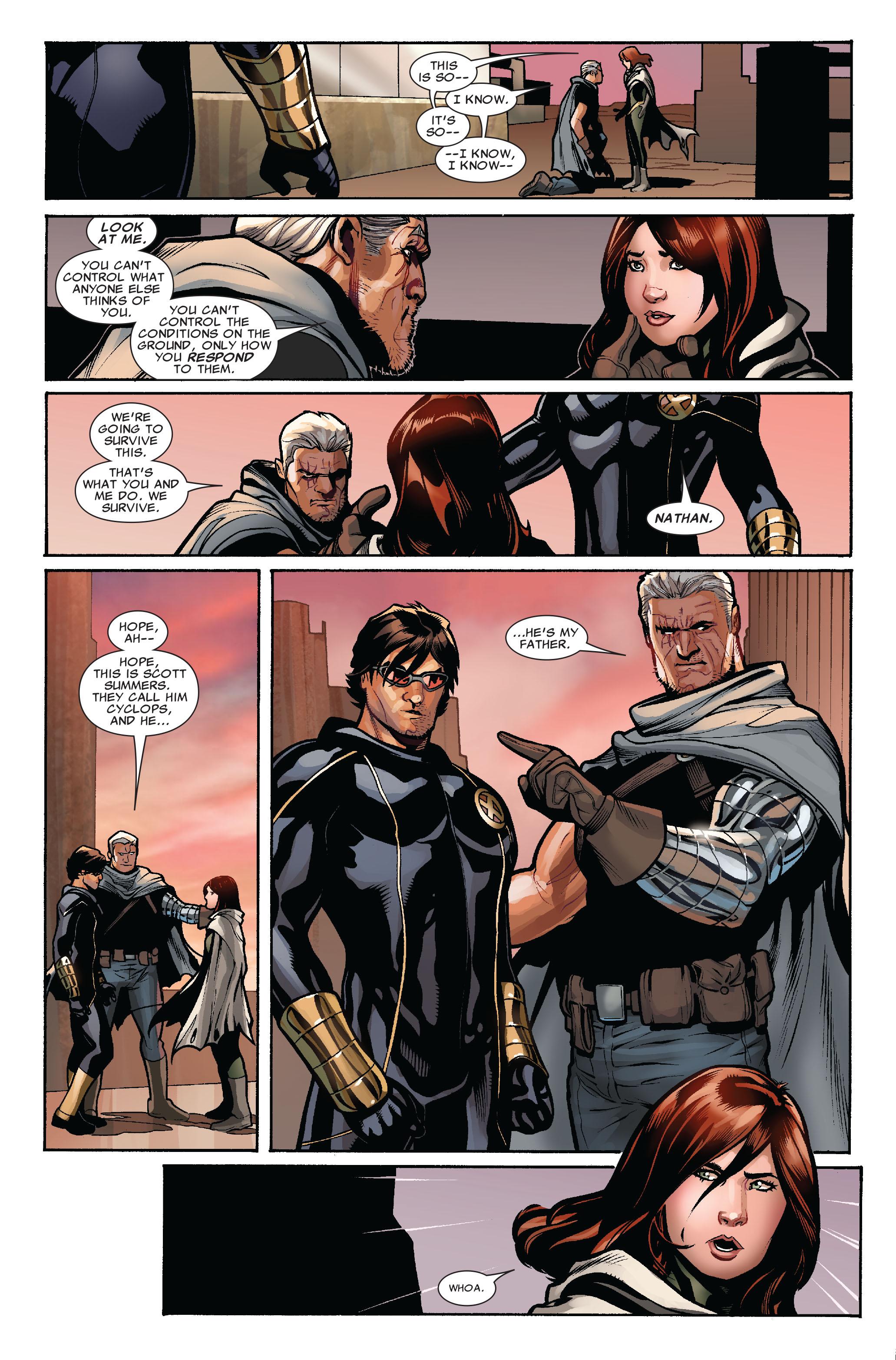 Read online Uncanny X-Men (1963) comic -  Issue #524 - 7