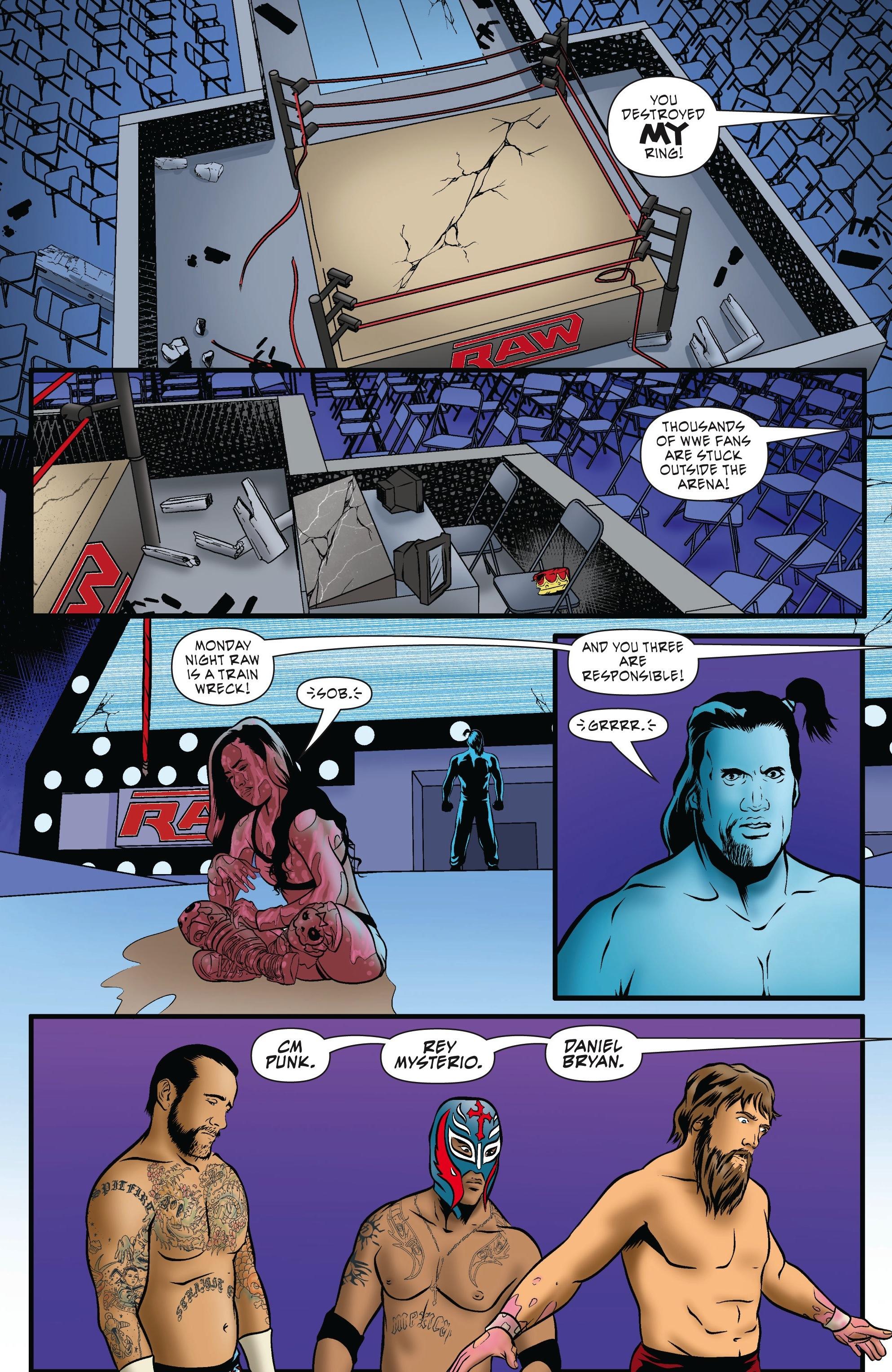 Read online WWE Superstars comic -  Issue #5 - 4