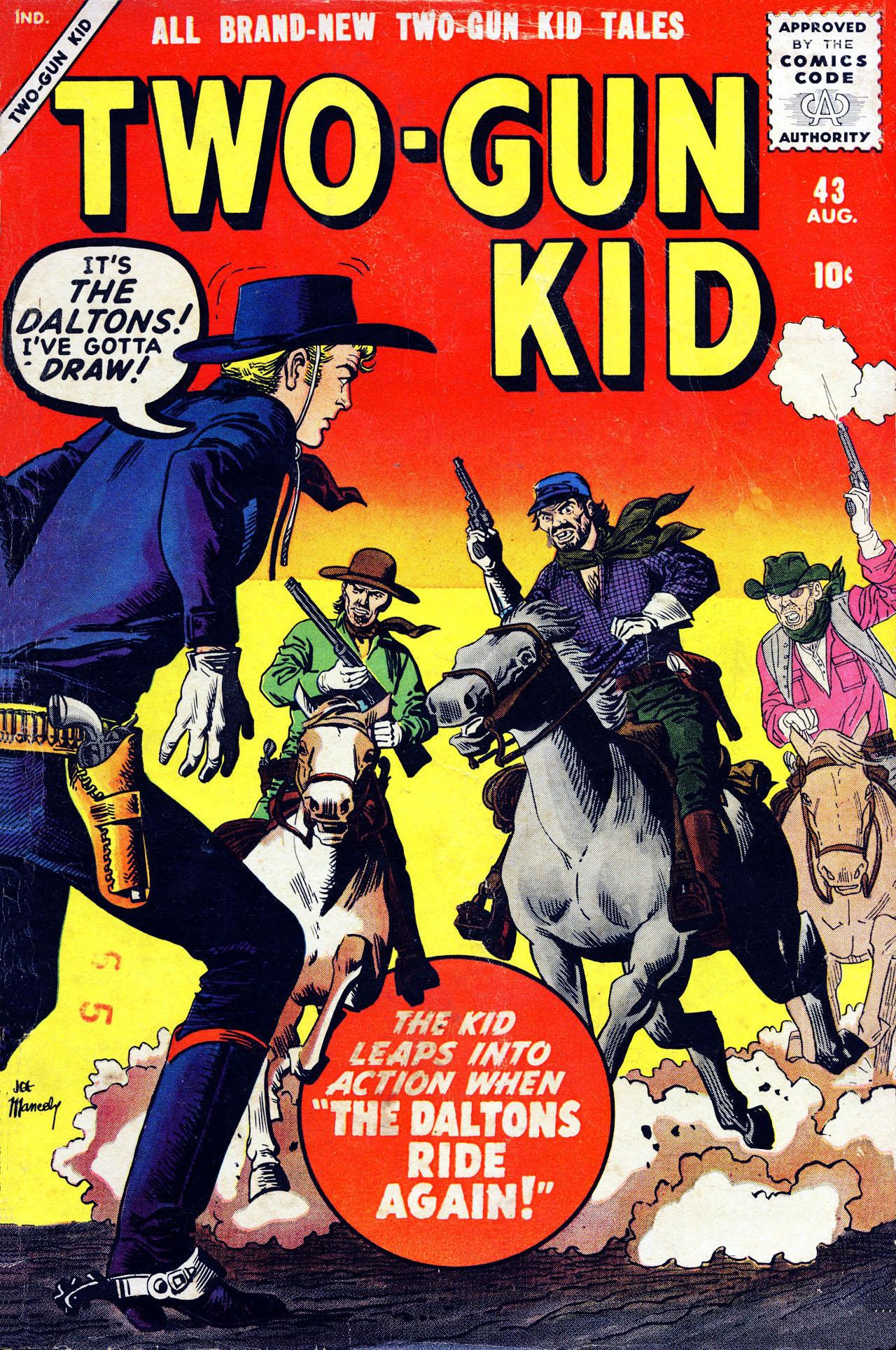 Read online Two-Gun Kid comic -  Issue #43 - 1