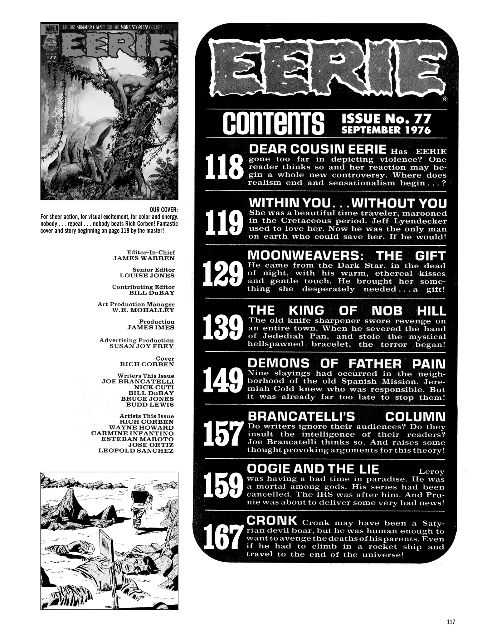 Read online Eerie Archives comic -  Issue # TPB 16 - 118