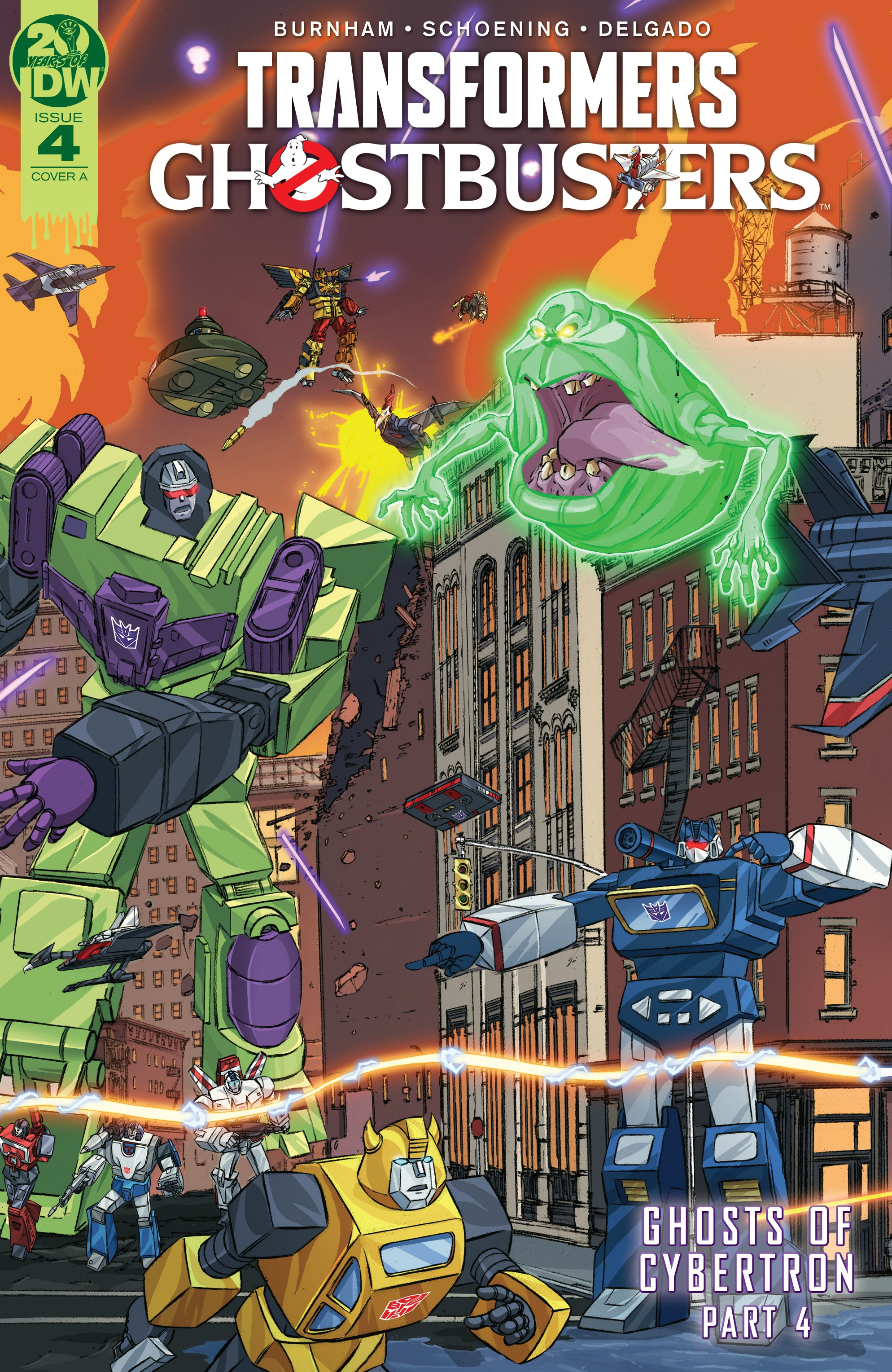 Transformers/Ghostbusters 4 Page 1