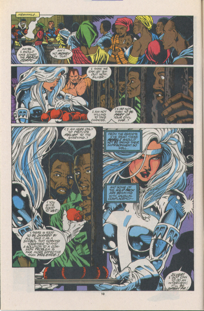 Read online Silver Sable and the Wild Pack comic -  Issue #16 - 9