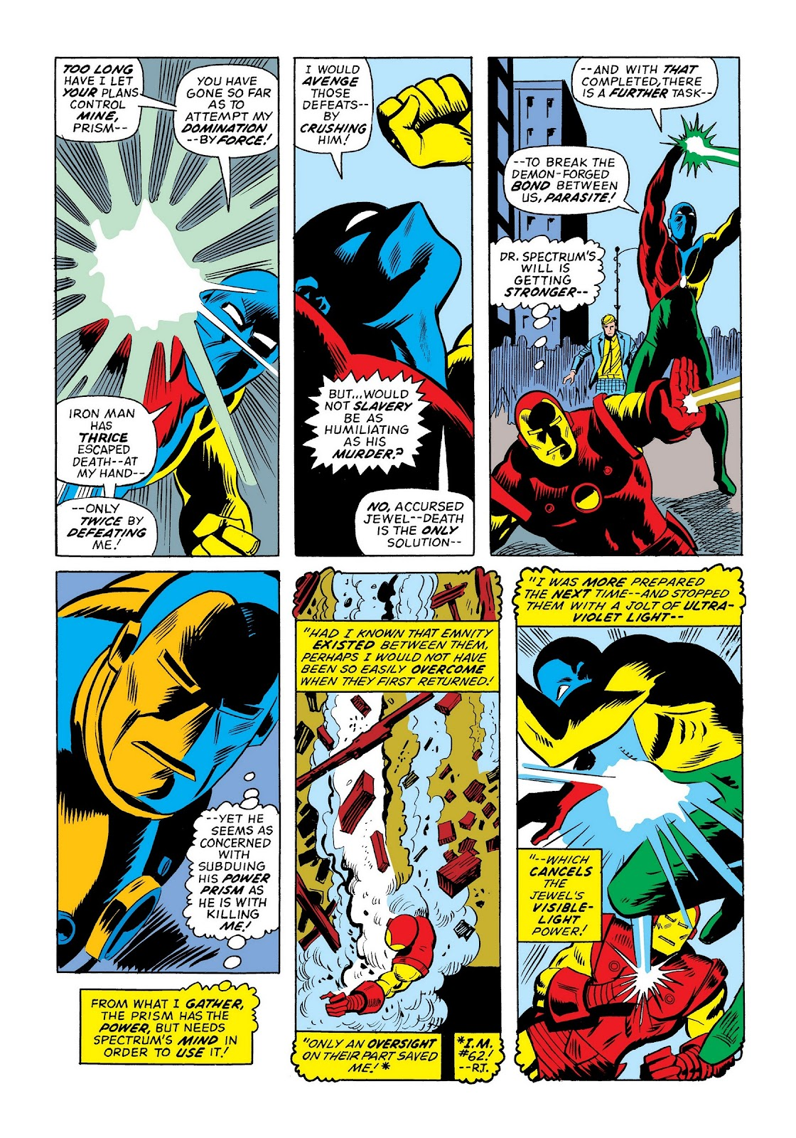 Read online Marvel Masterworks: The Invincible Iron Man comic -  Issue # TPB 9 (Part 3) - 35