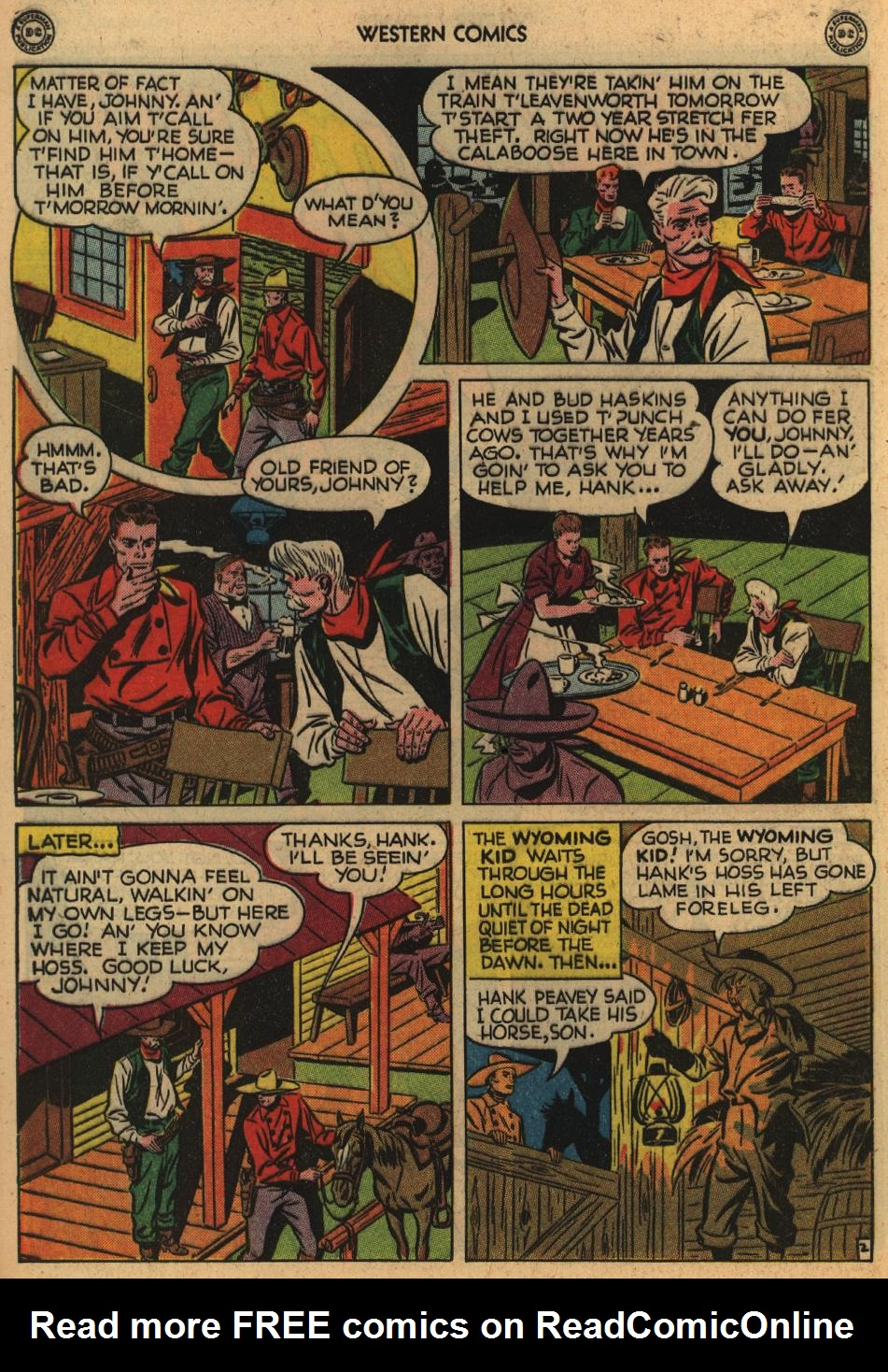 Western Comics issue 1 - Page 40
