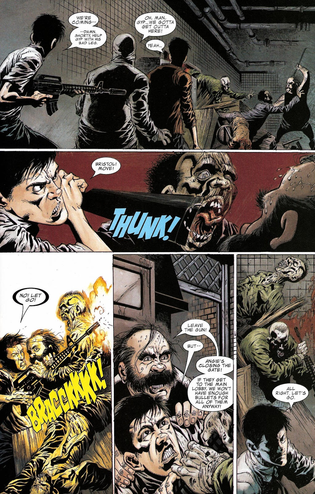 Read online Zombie (2006) comic -  Issue #2 - 19