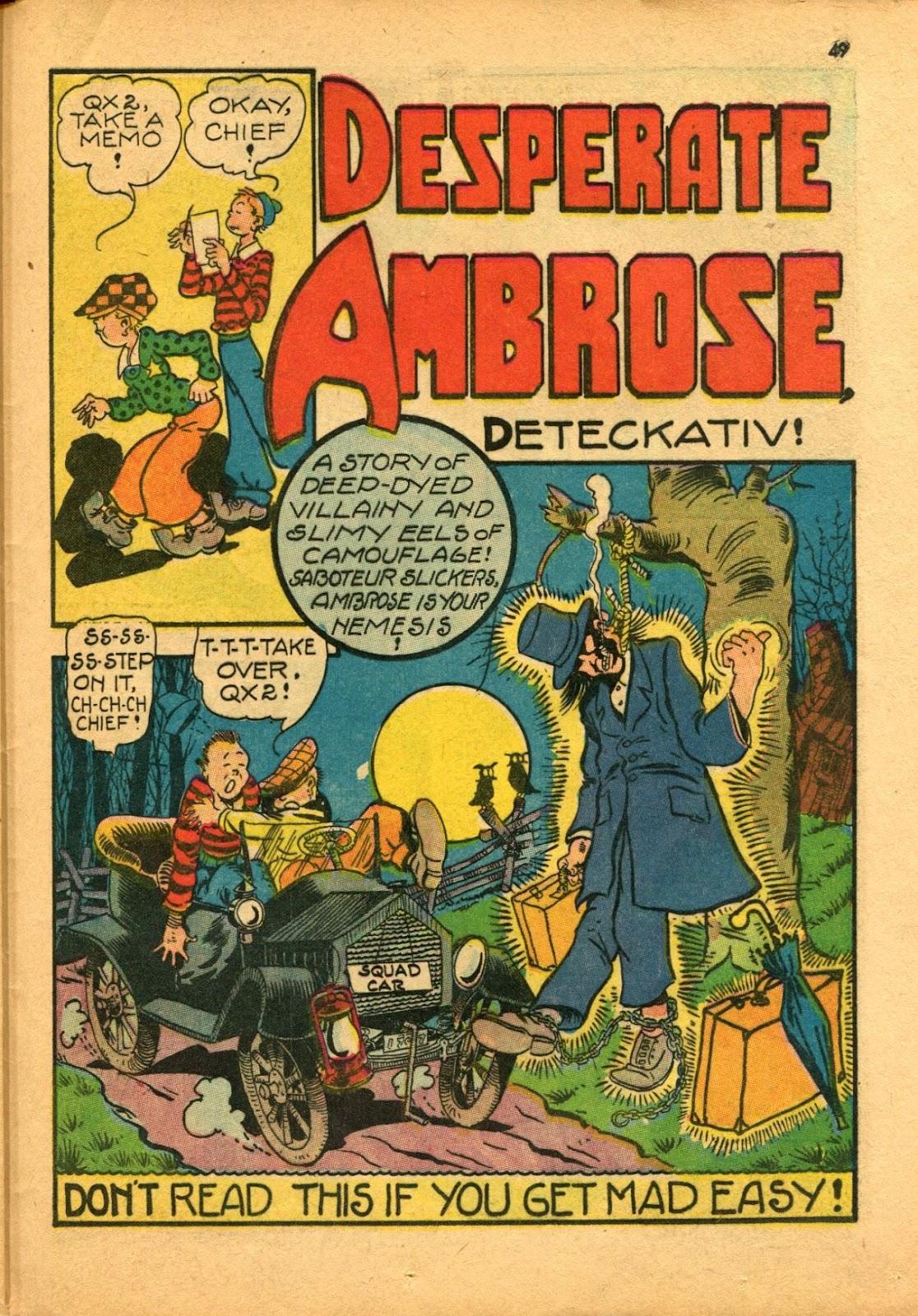 Read online Super-Magician Comics comic -  Issue #11 - 49
