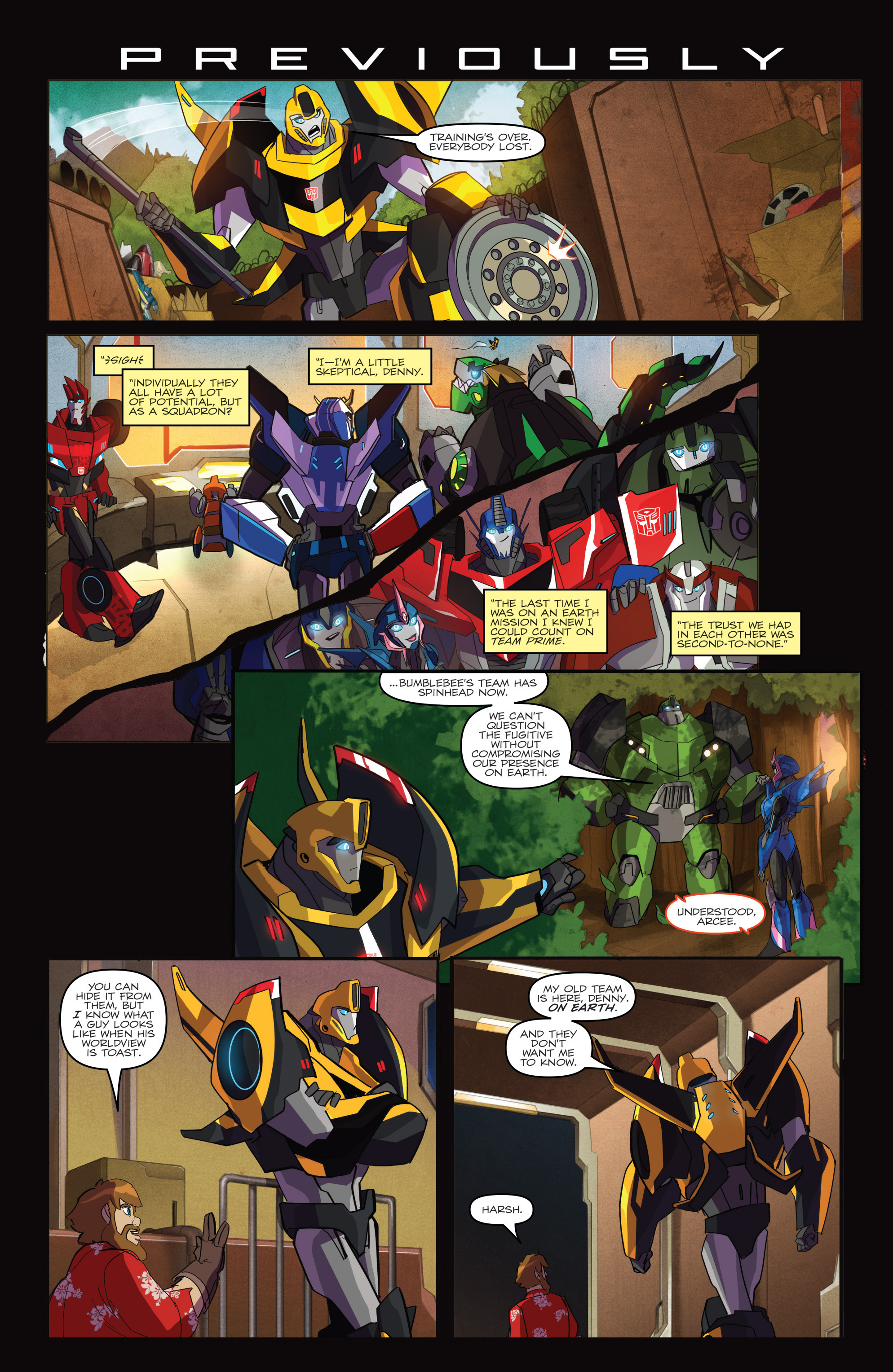 Read online Transformers: Robots In Disguise (2015) comic -  Issue #2 - 3
