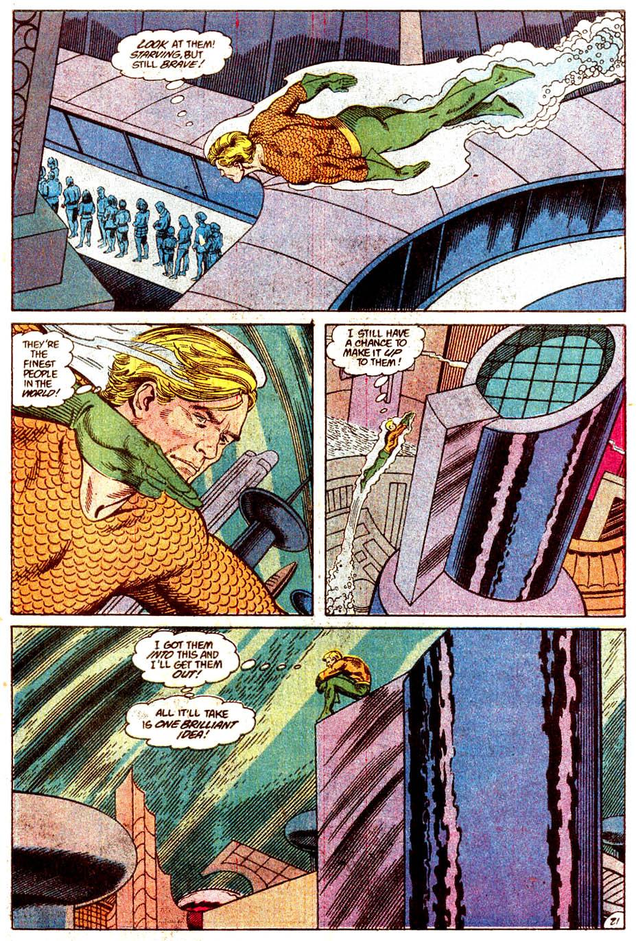 Read online Aquaman (1989) comic -  Issue #4 - 22