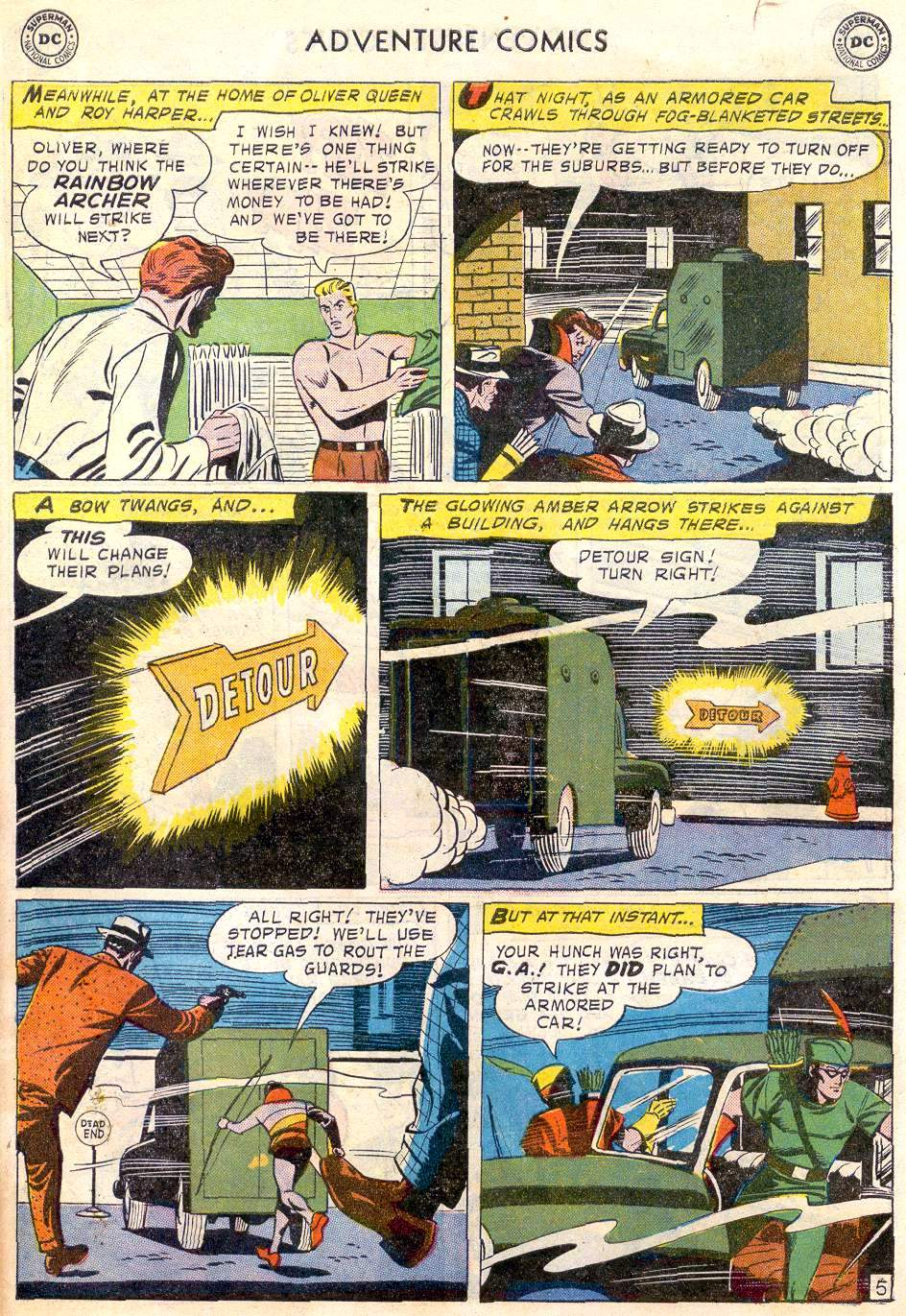 Read online Adventure Comics (1938) comic -  Issue #246 - 31