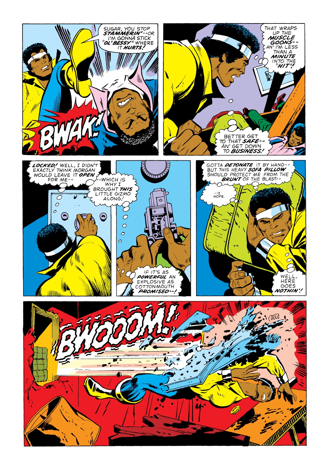 Read online Marvel Masterworks: Luke Cage, Power Man comic -  Issue # TPB 2 (Part 1) - 66