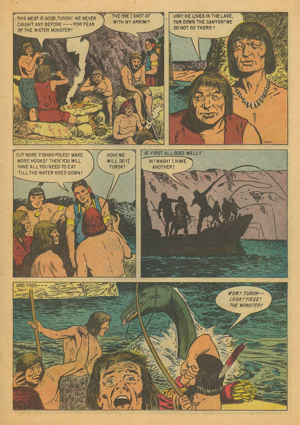 Read online Turok, Son of Stone comic -  Issue #8 - 11