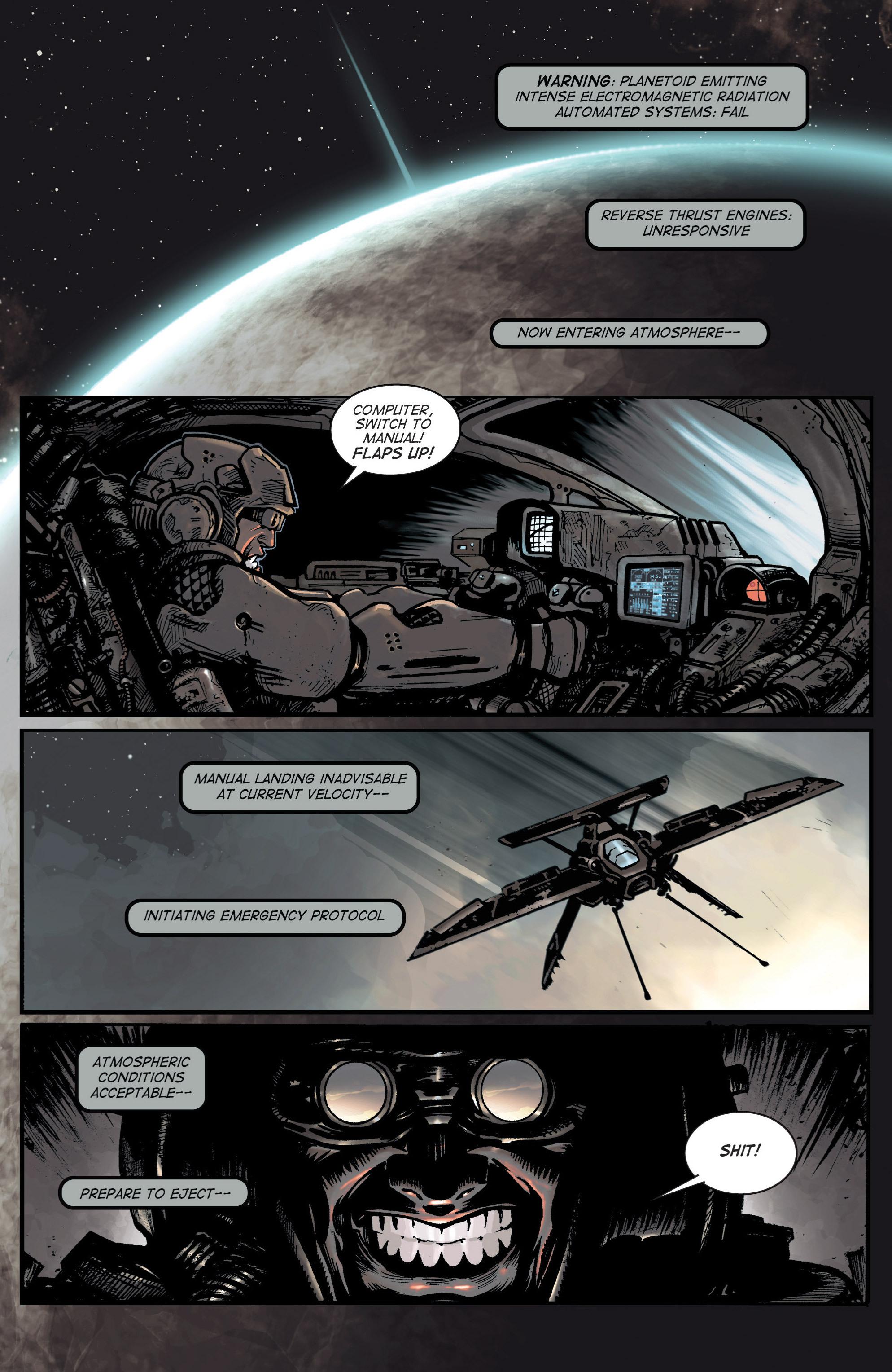 Read online Planetoid comic -  Issue # TPB - 7