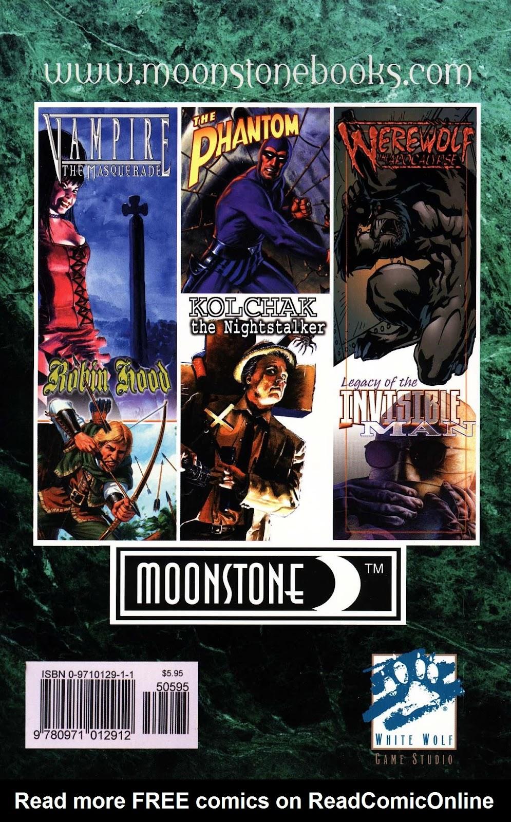 Read online Vampire the Masquerade comic -  Issue # Toreador - 52