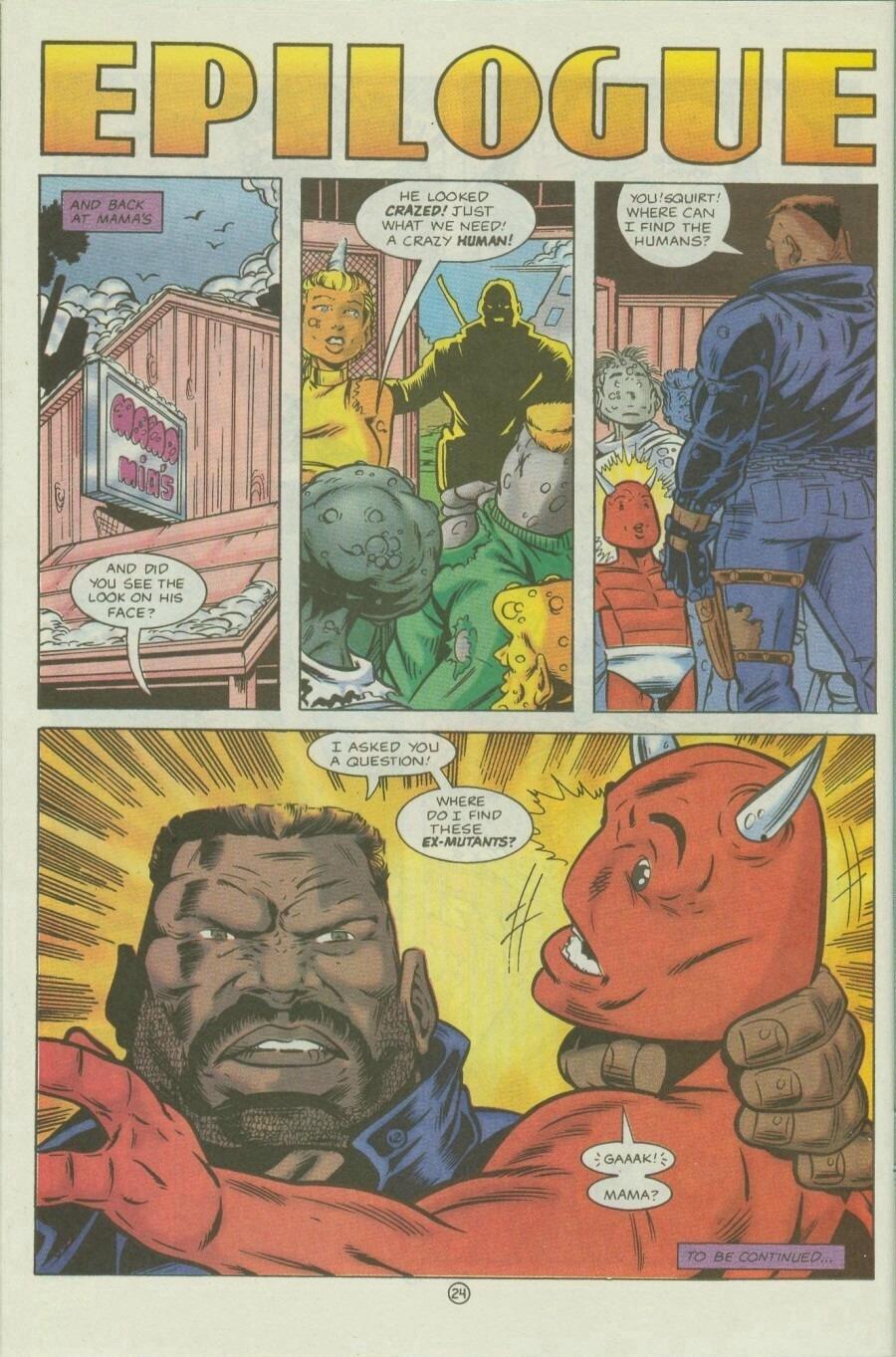Read online Ex-Mutants comic -  Issue #9 - 30
