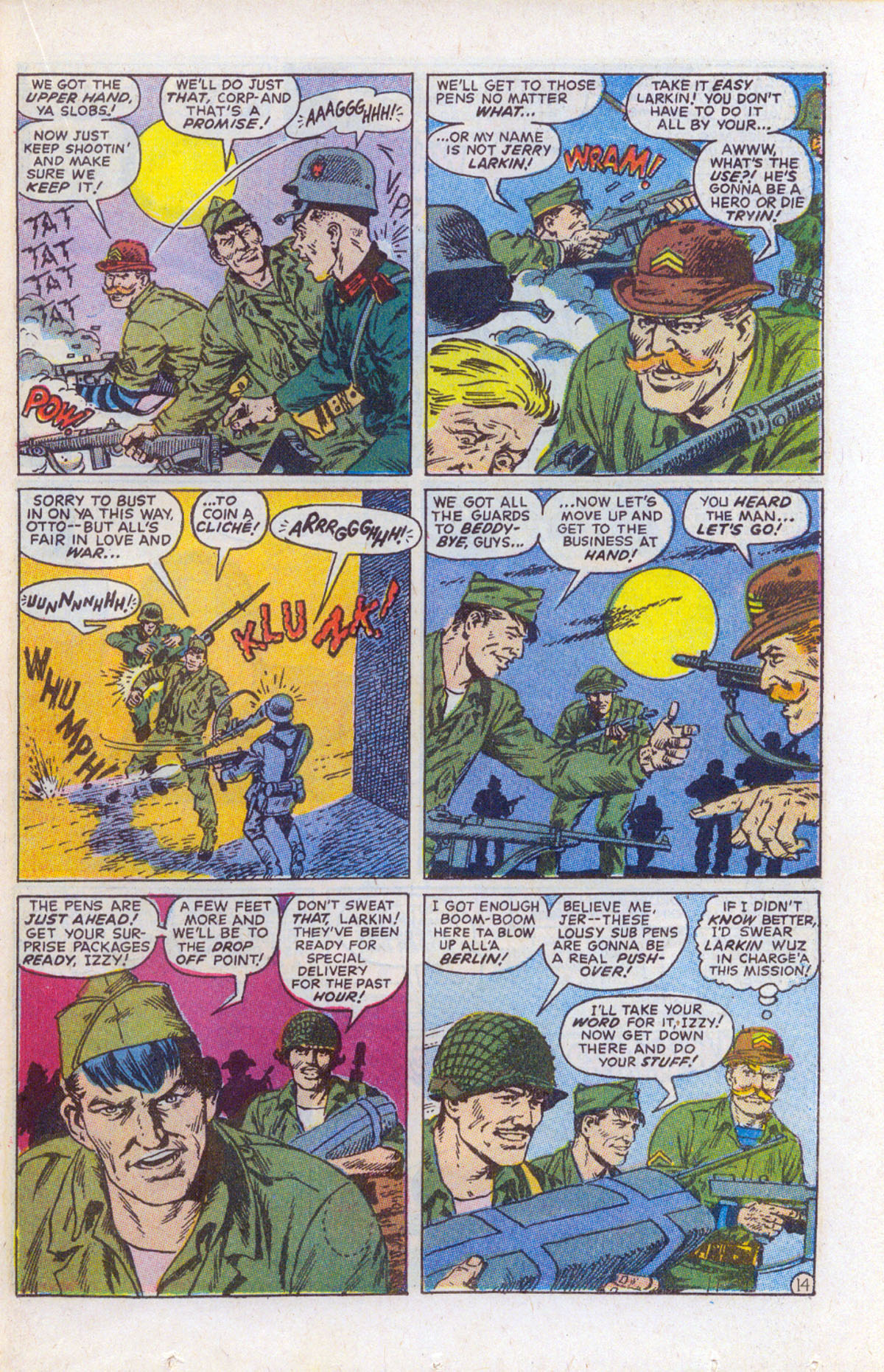 Read online Sgt. Fury comic -  Issue #159 - 21