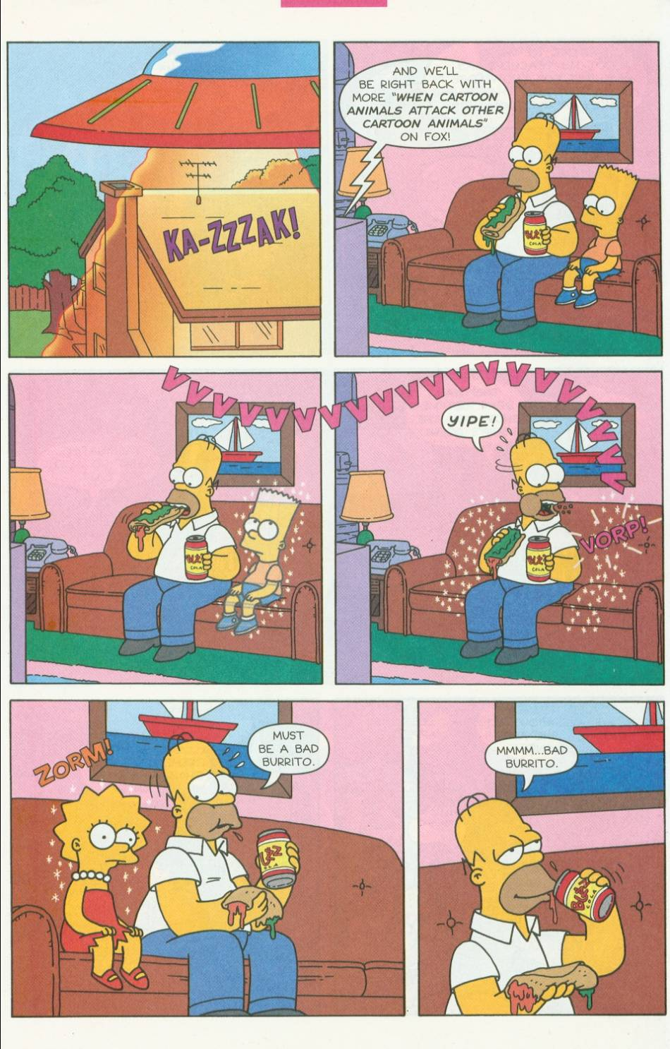 Read online Simpsons Comics Presents Bart Simpson comic -  Issue #1 - 25