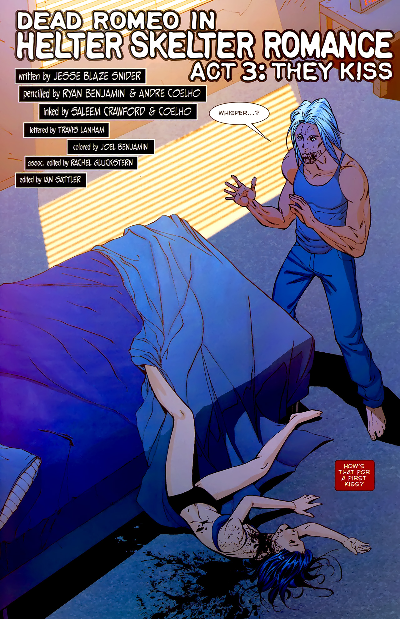 Read online Dead Romeo comic -  Issue #3 - 22