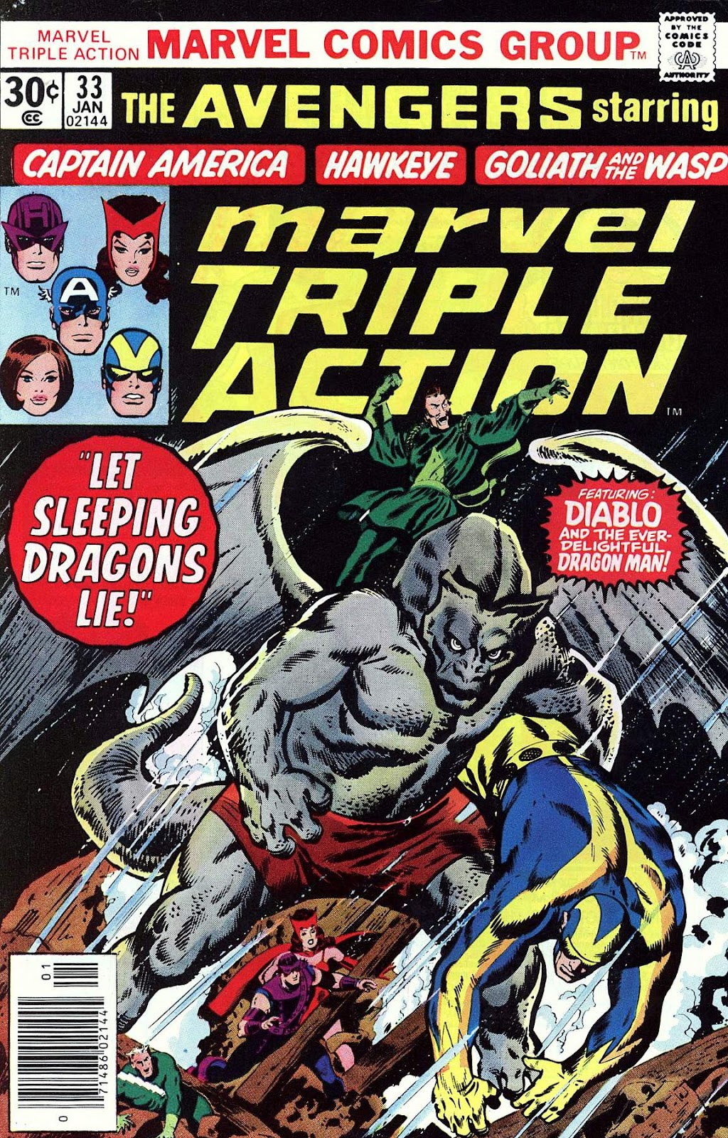 Marvel Triple Action (1972) issue 33 - Page 1