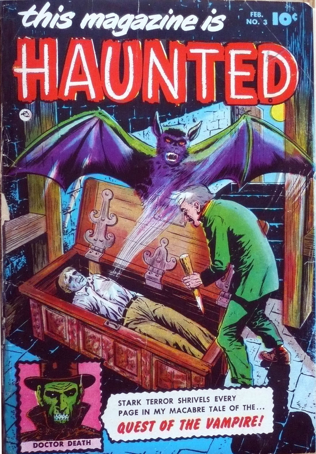 Read online This Magazine Is Haunted comic -  Issue #3 - 1