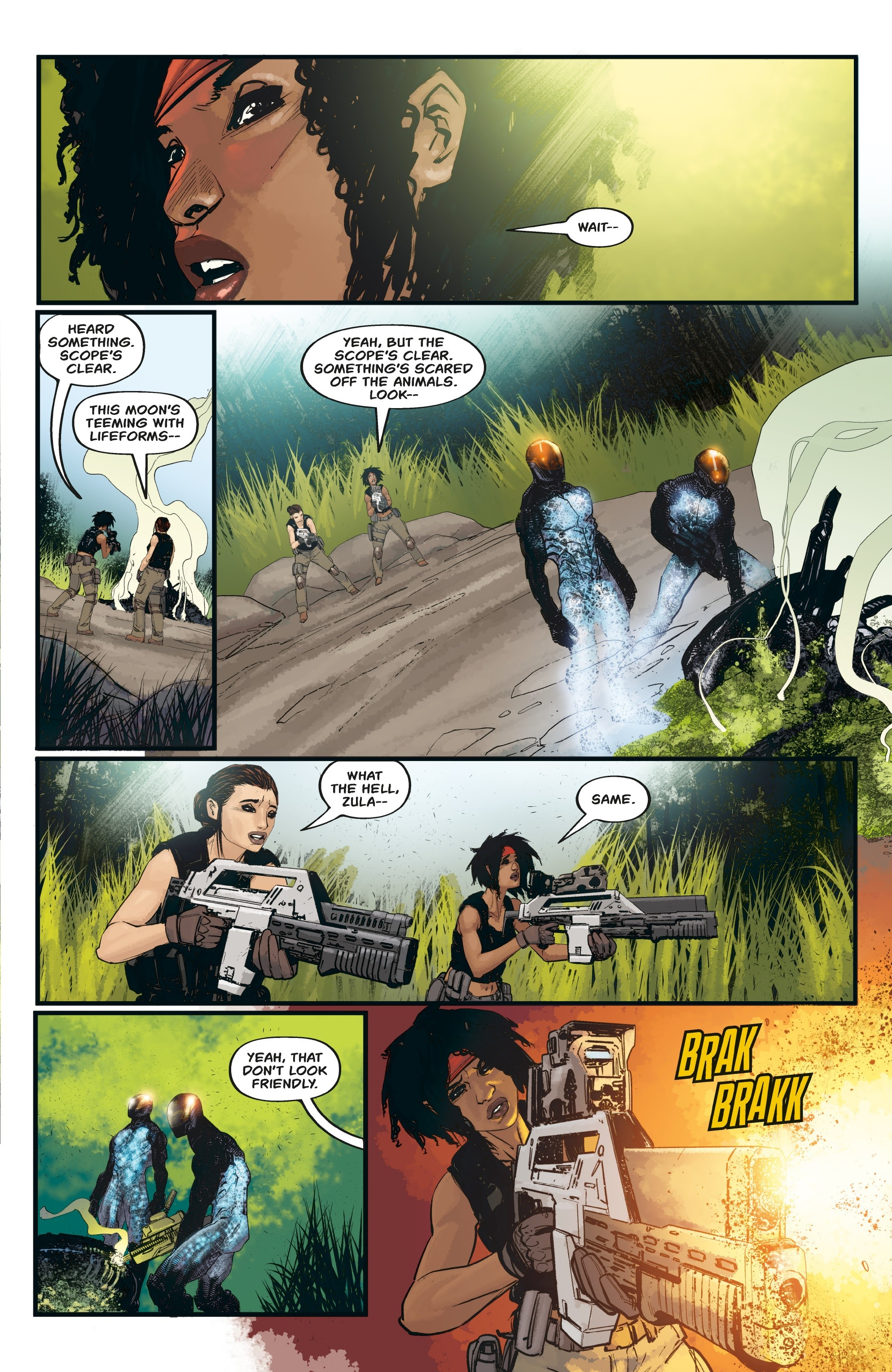 Aliens: Resistance issue 3 - Page 17