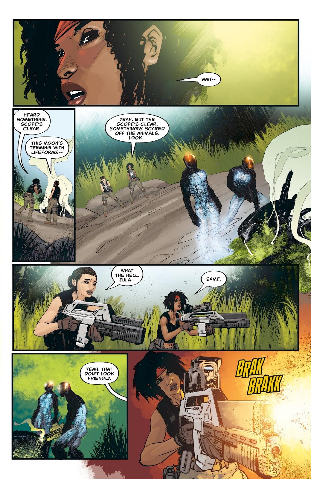 Read online Aliens: Resistance comic -  Issue #3 - 17