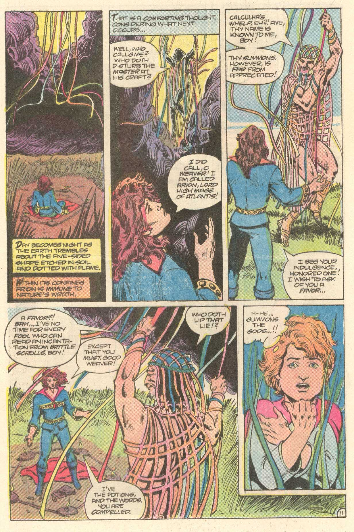 Read online Arion, Lord of Atlantis comic -  Issue #28 - 12