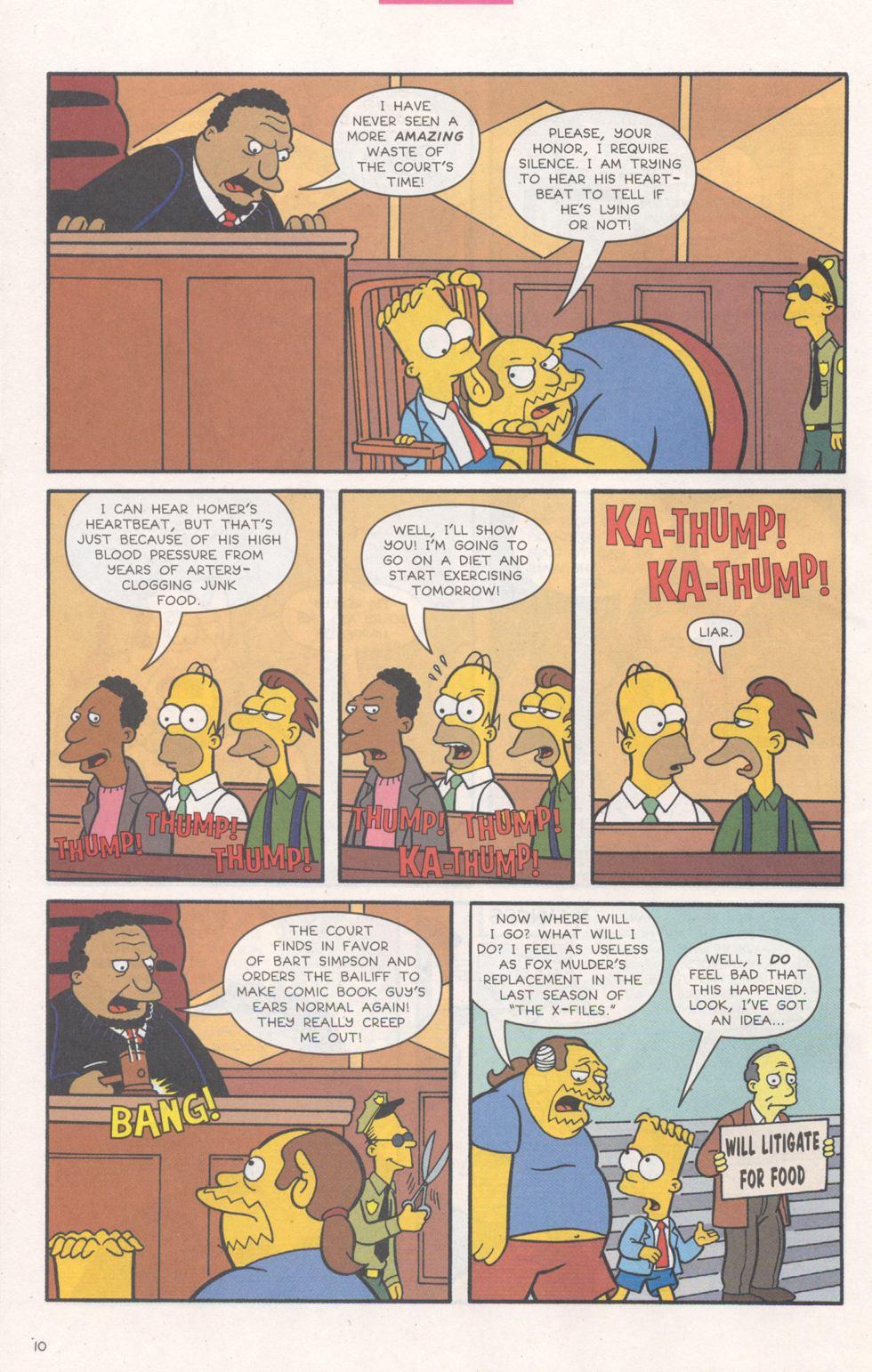 Read online Simpsons Comics comic -  Issue #93 - 11