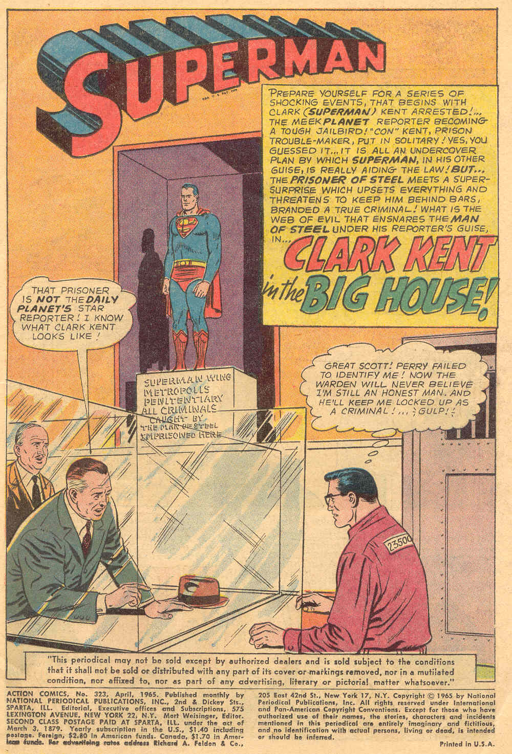 Read online Action Comics (1938) comic -  Issue #323 - 3