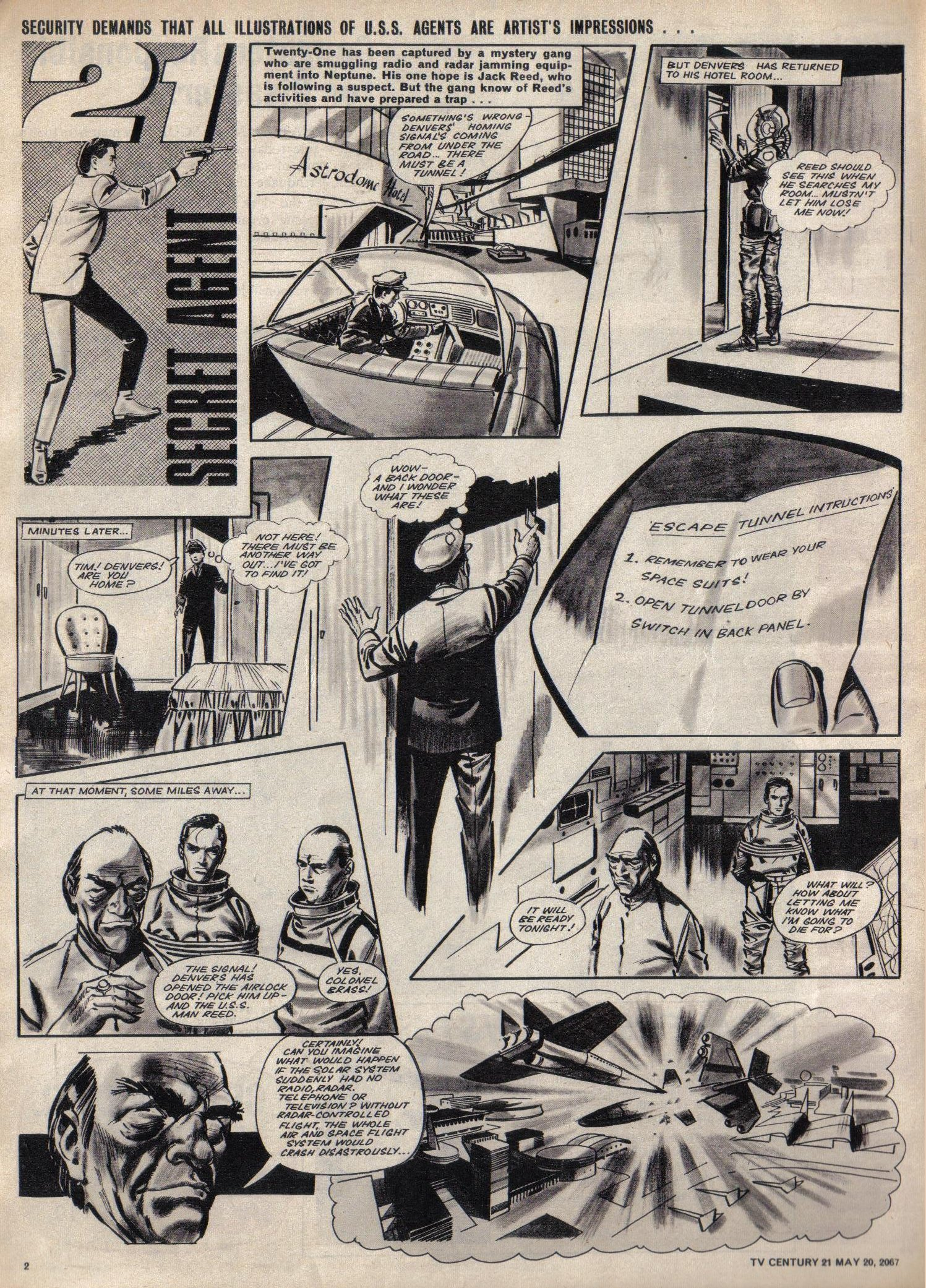 Read online TV Century 21 (TV 21) comic -  Issue #122 - 2