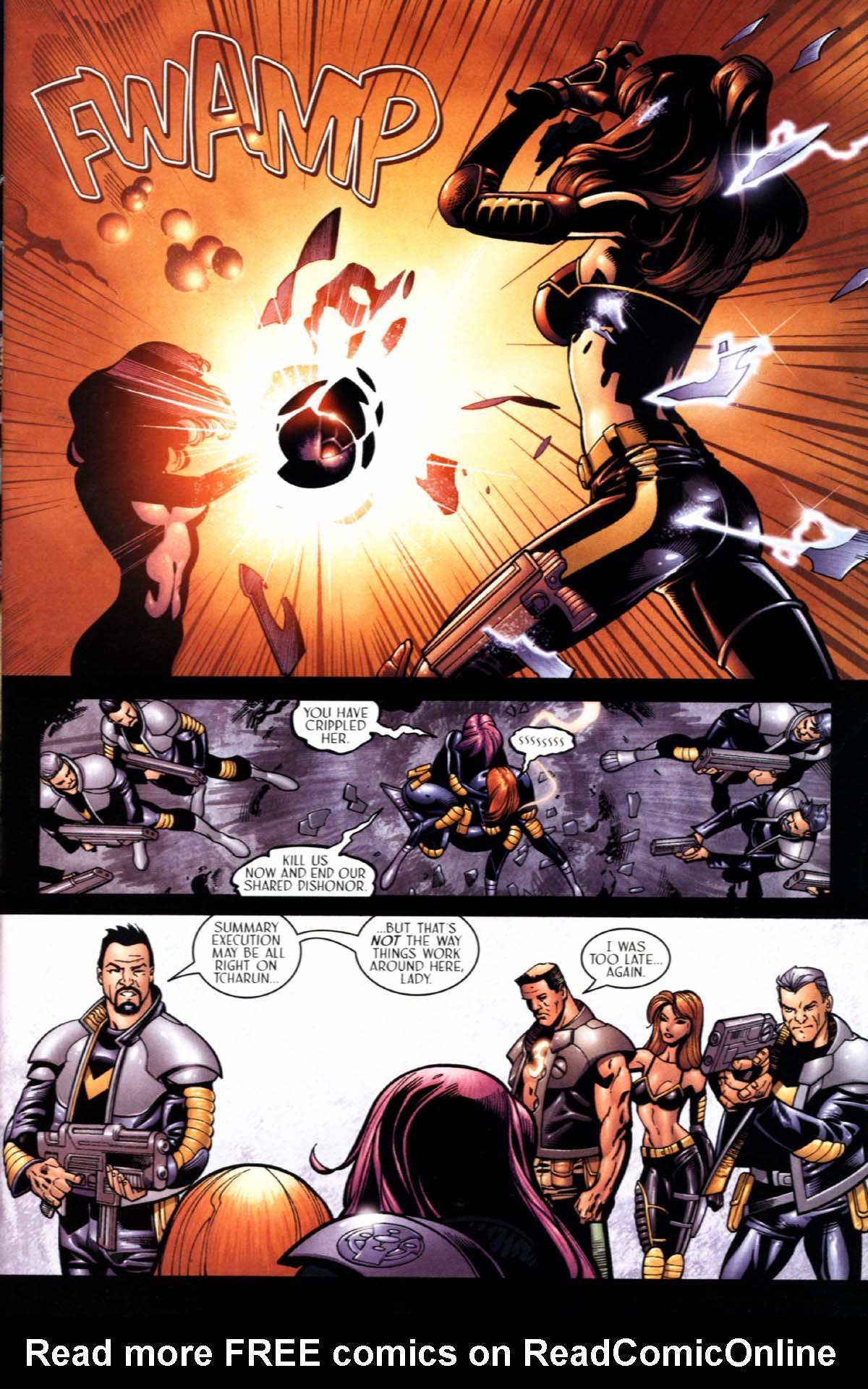 Read online Sigil (2000) comic -  Issue #22 - 9