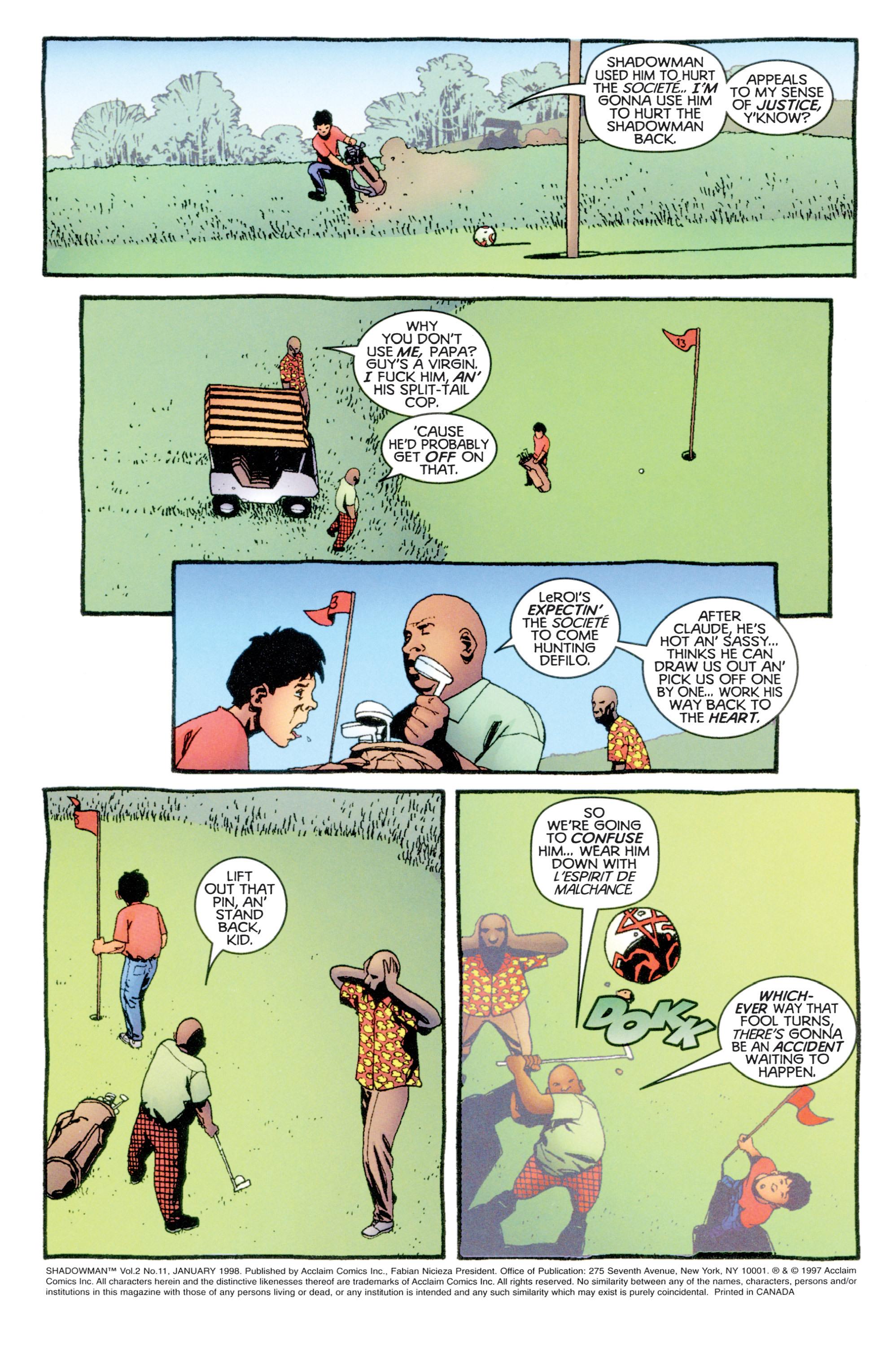 Read online Shadowman (1997) comic -  Issue #11 - 3