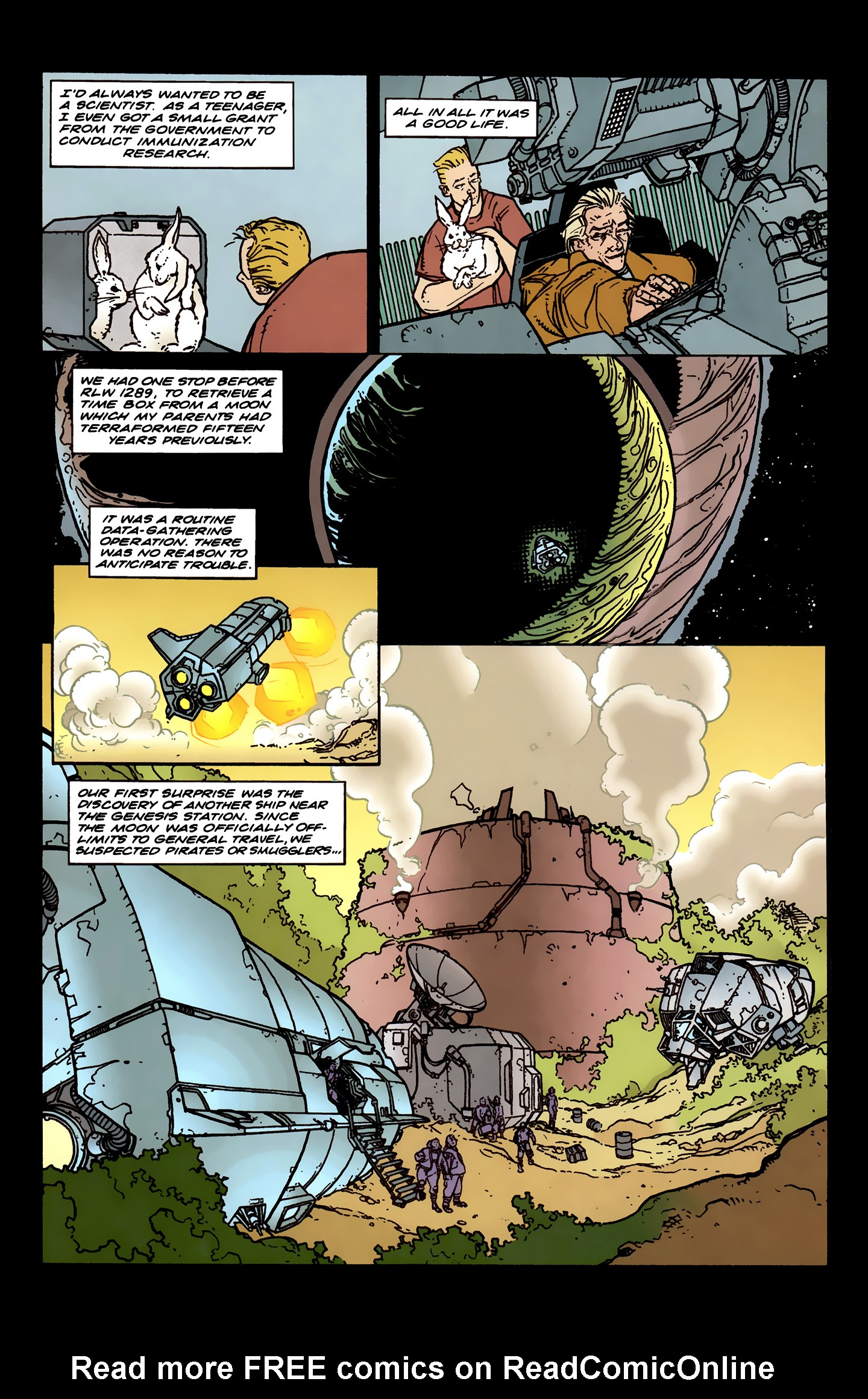 Read online Aliens: Labyrinth comic -  Issue #3 - 7