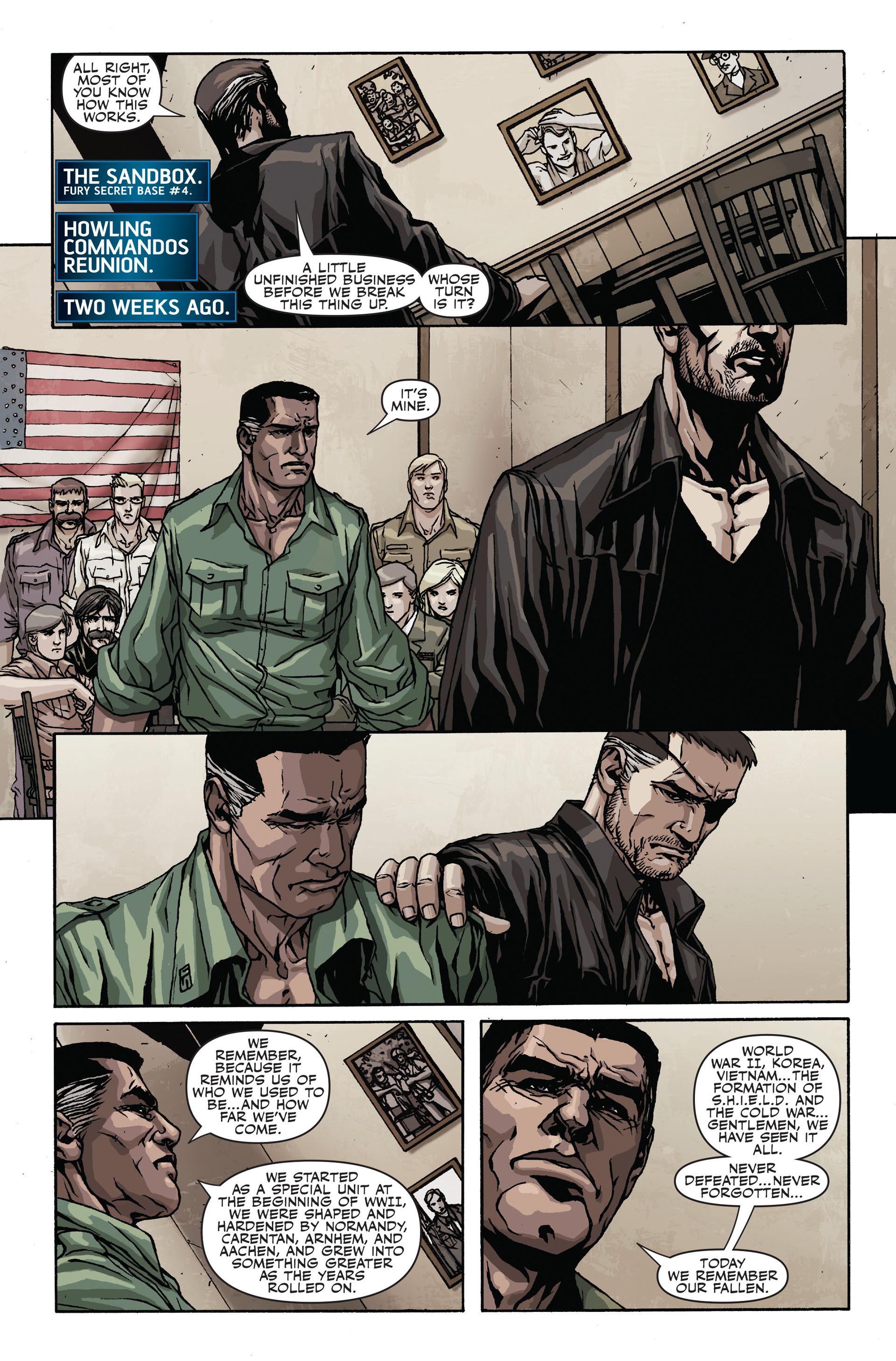 Read online Secret Warriors comic -  Issue #19 - 4