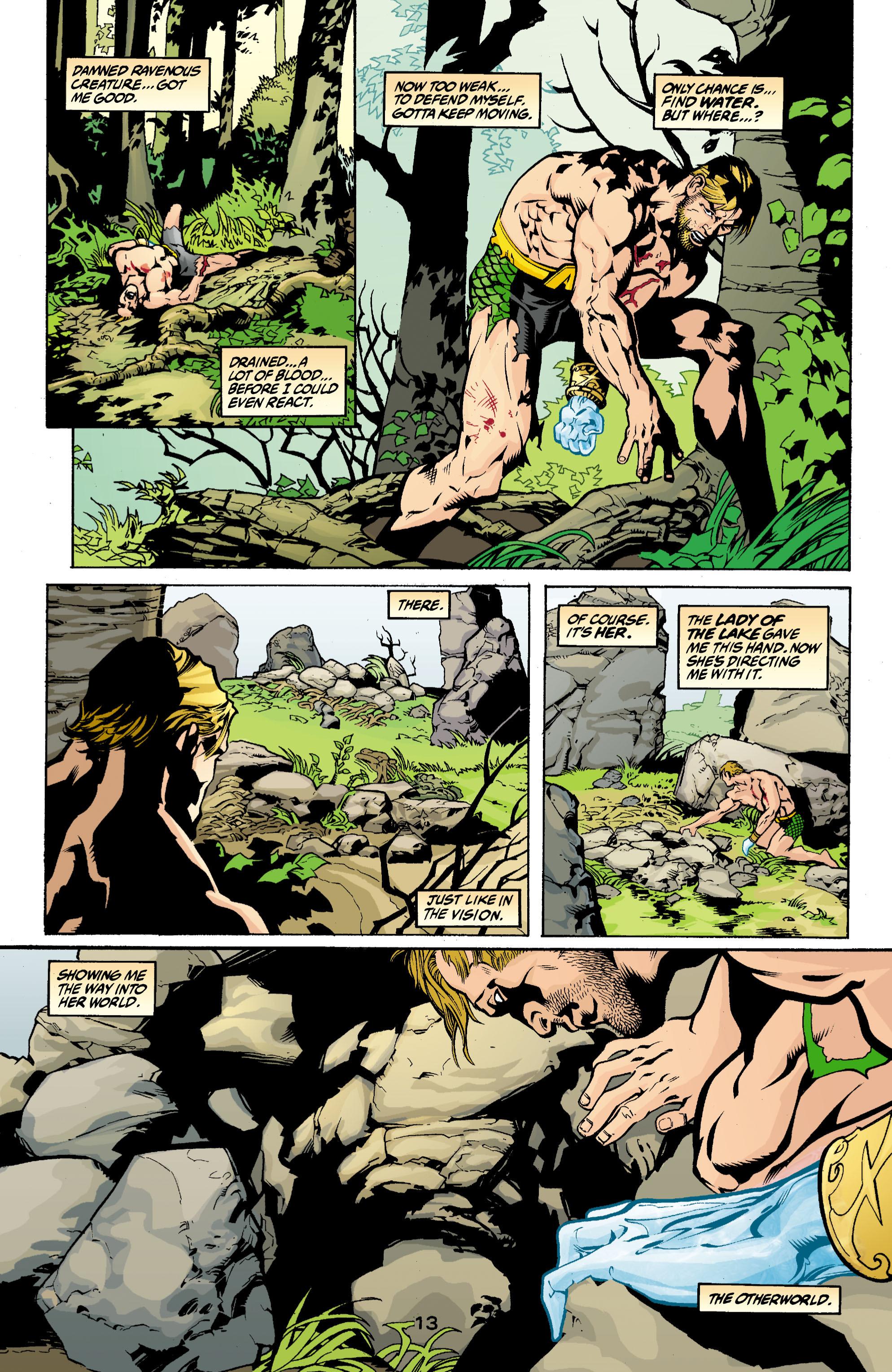 Read online Aquaman (2003) comic -  Issue #3 - 13