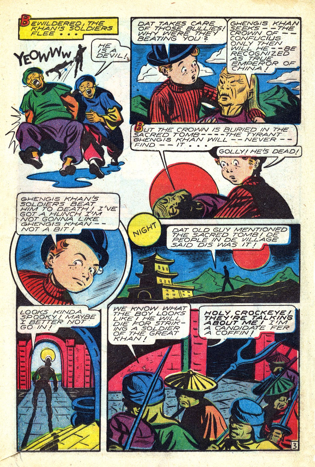 Read online Mystic Comics (1944) comic -  Issue #3 - 21