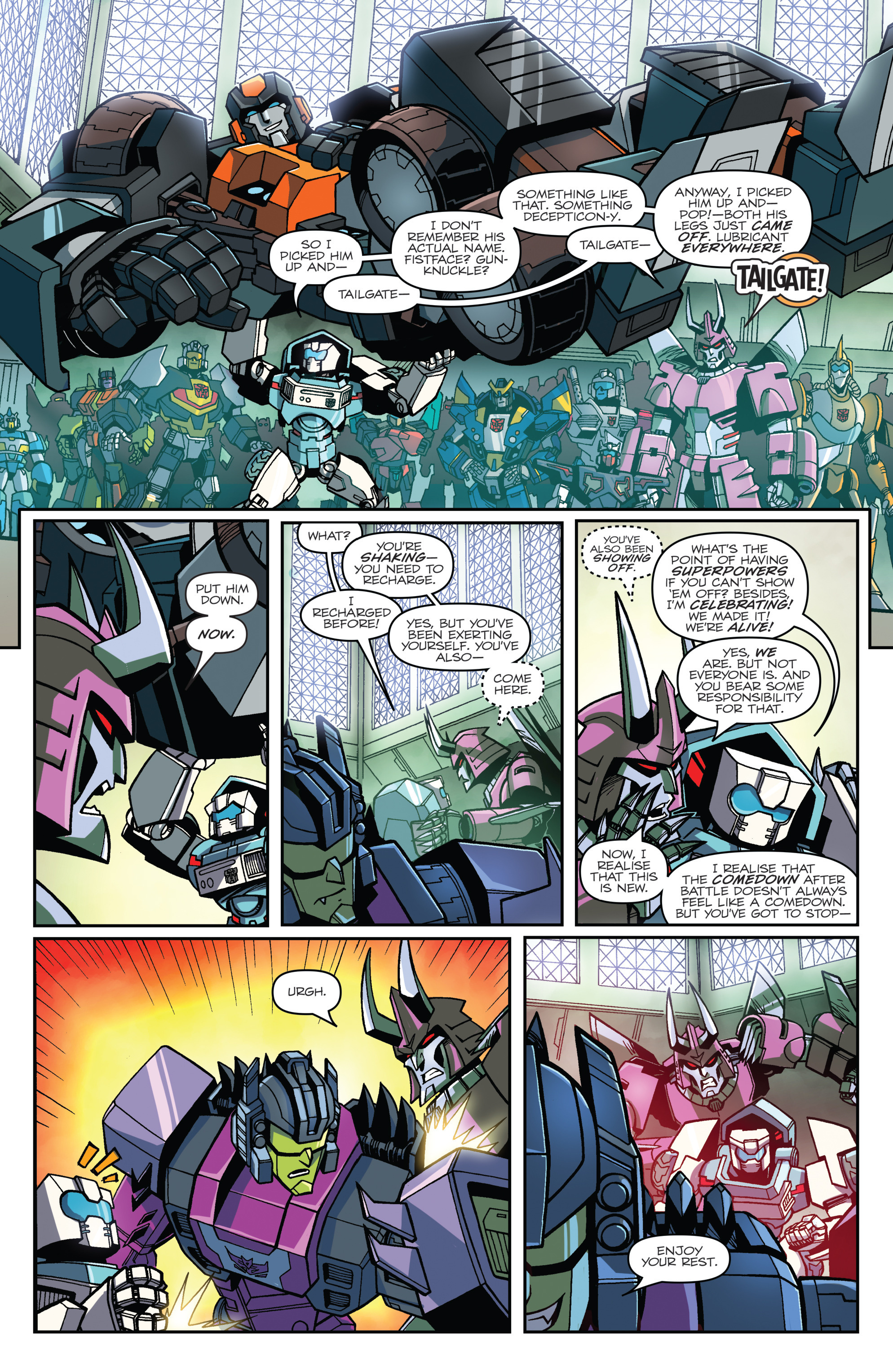 Read online Transformers: Lost Light comic -  Issue #1 - 11