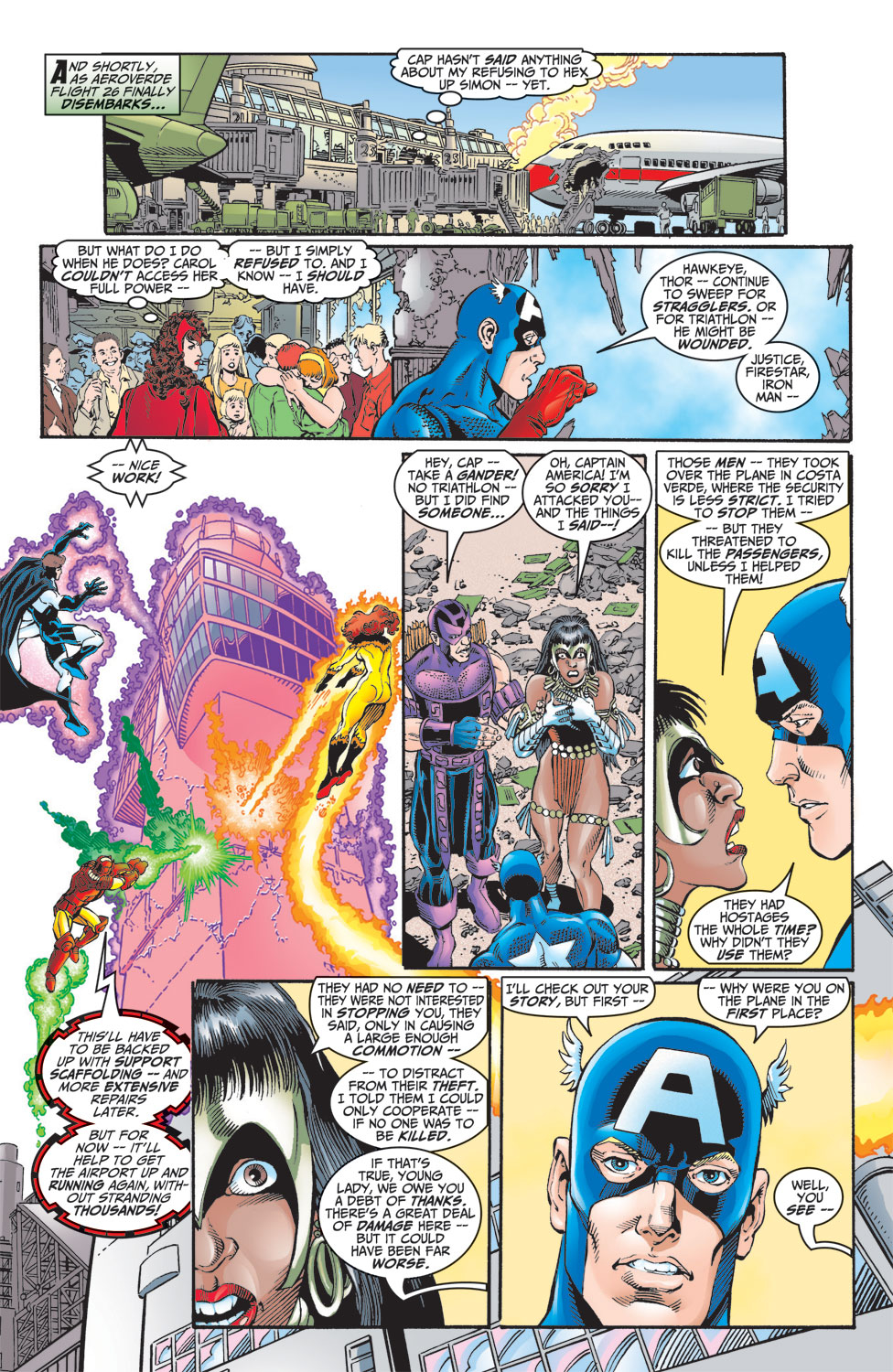 Read online Avengers (1998) comic -  Issue #8 - 21