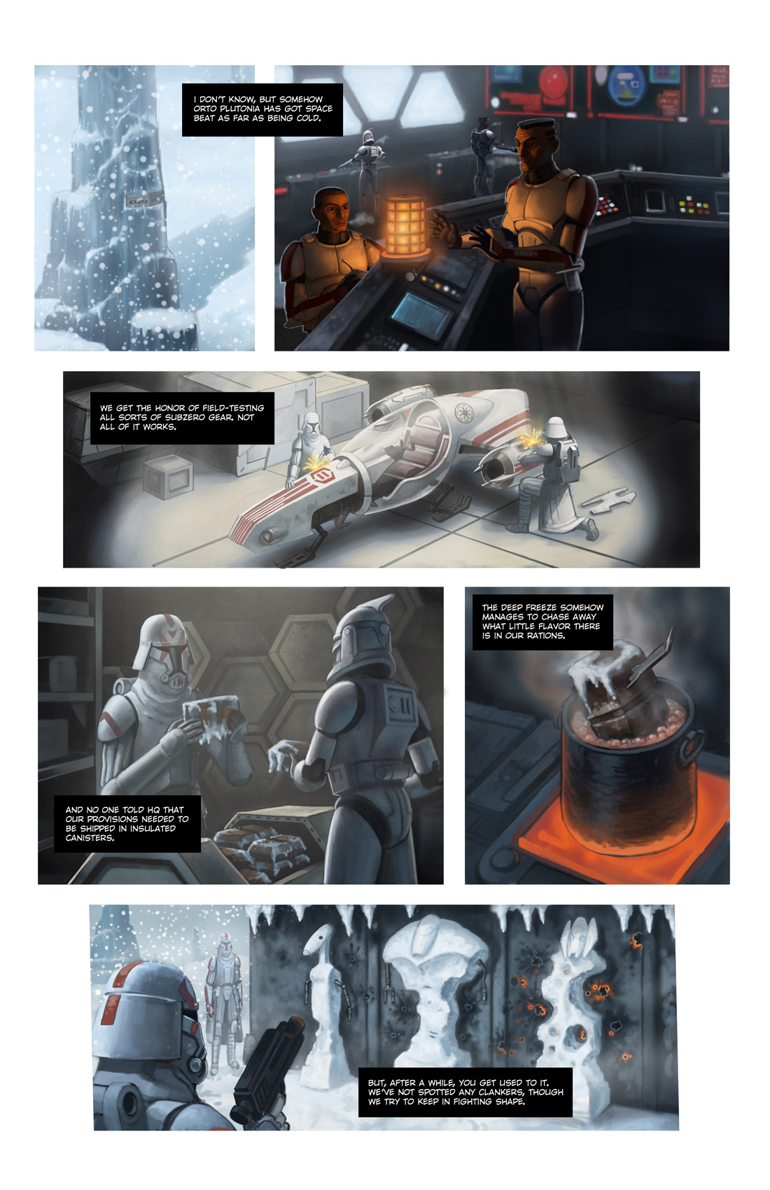Read online Star Wars: Tales From The Clone Wars comic -  Issue # TPB - 105