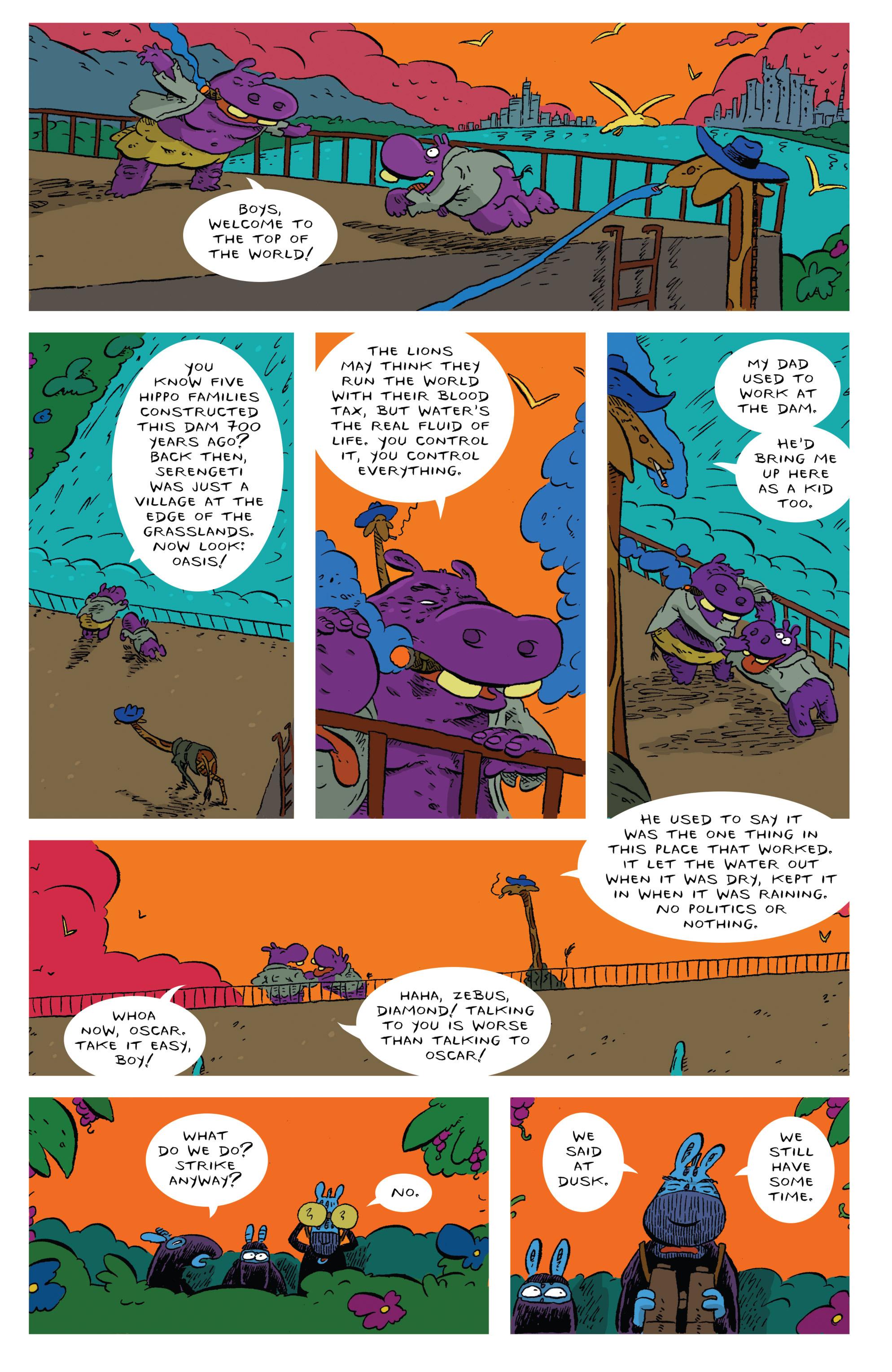 Read online Animal Noir comic -  Issue #4 - 20