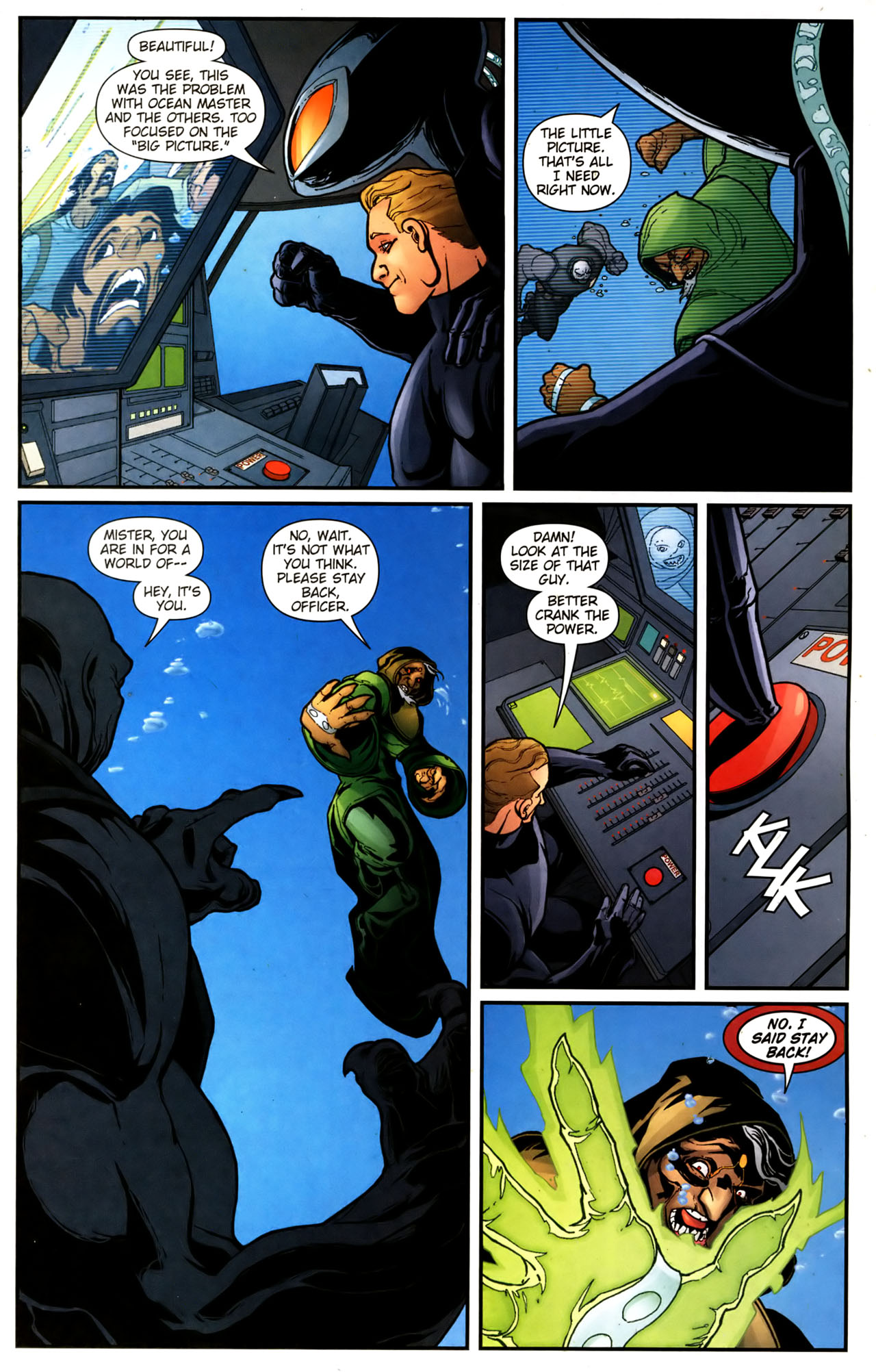 Read online Aquaman (2003) comic -  Issue #39 - 10