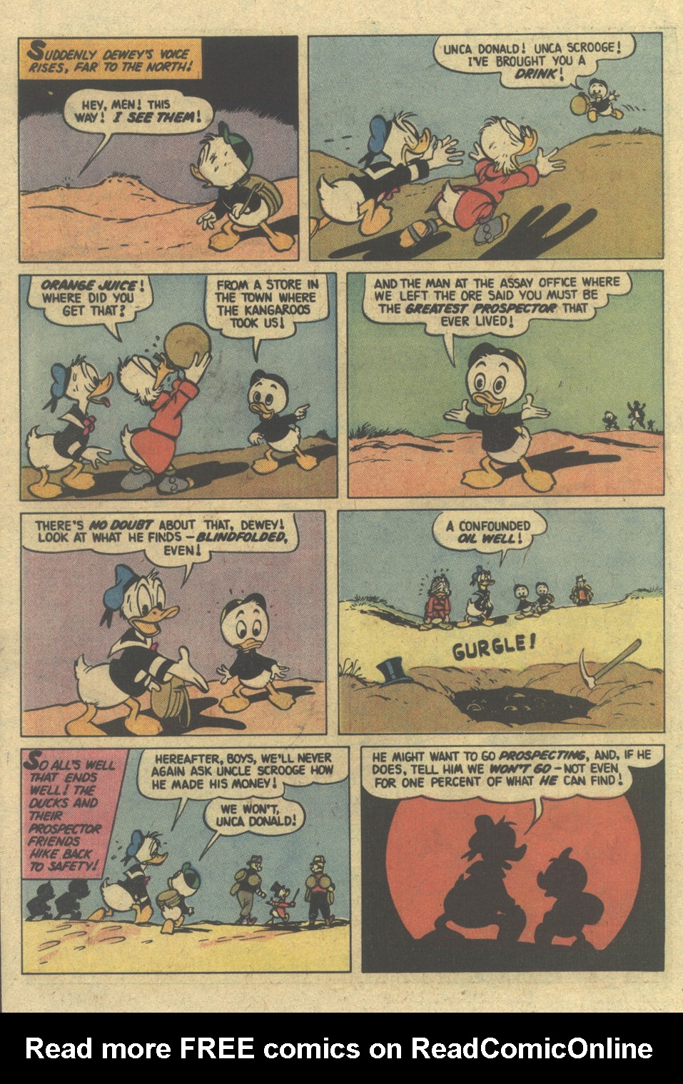 Read online Uncle Scrooge (1953) comic -  Issue #148 - 22