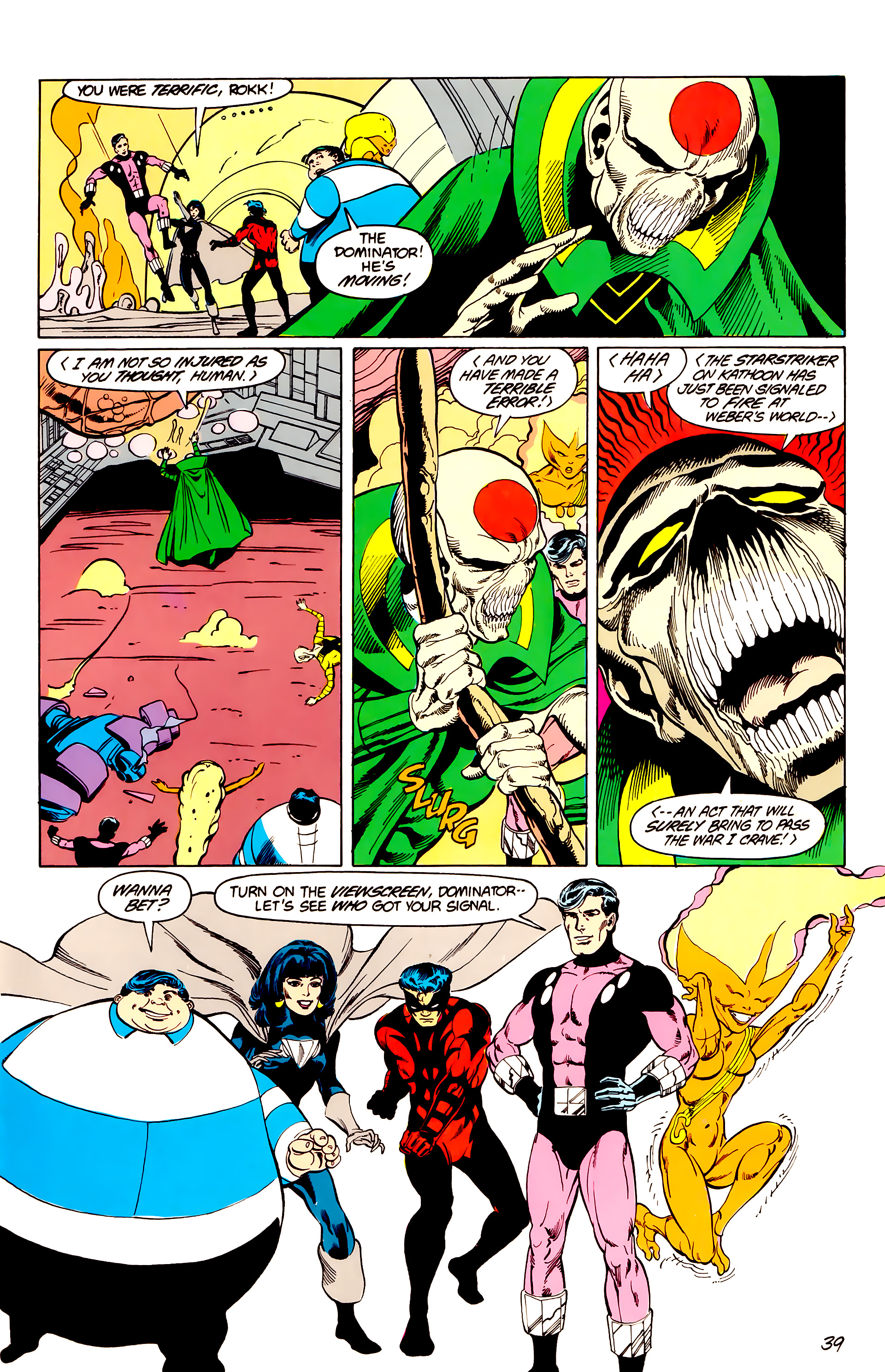 Legion of Super-Heroes (1984) _Annual_3 Page 39