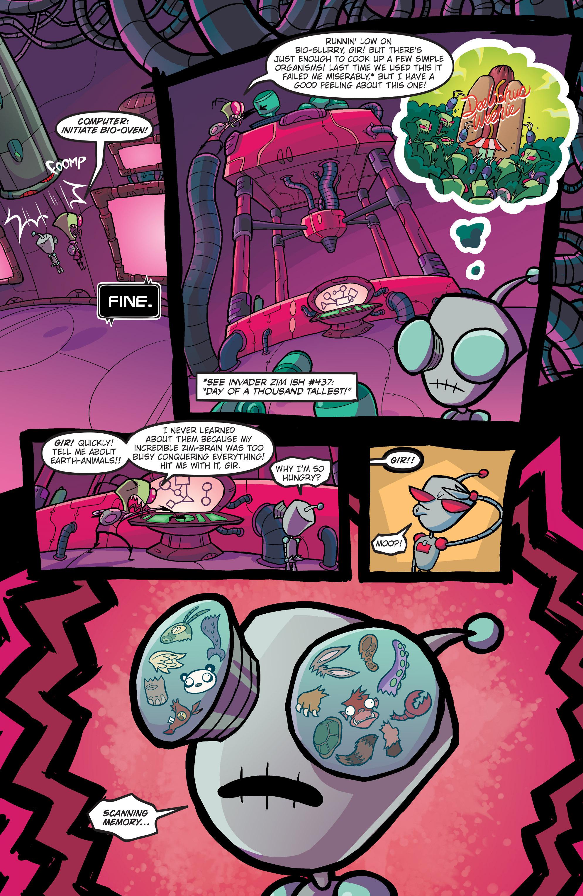 Read online Invader Zim comic -  Issue #19 - 7