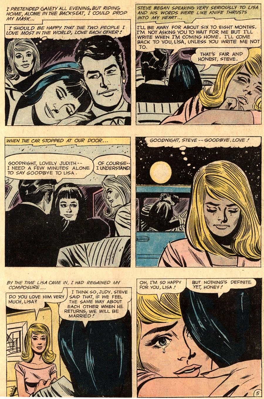Read online Secret Hearts comic -  Issue #150 - 19